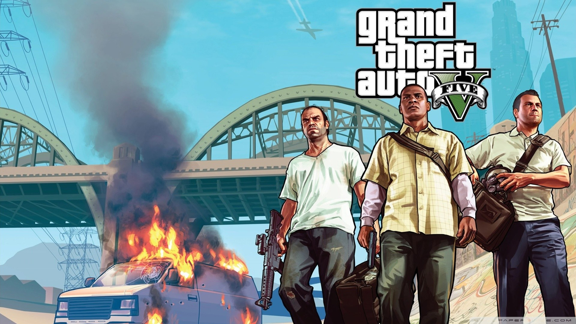 Gta V Wallpaper 1920x1080 81 Images