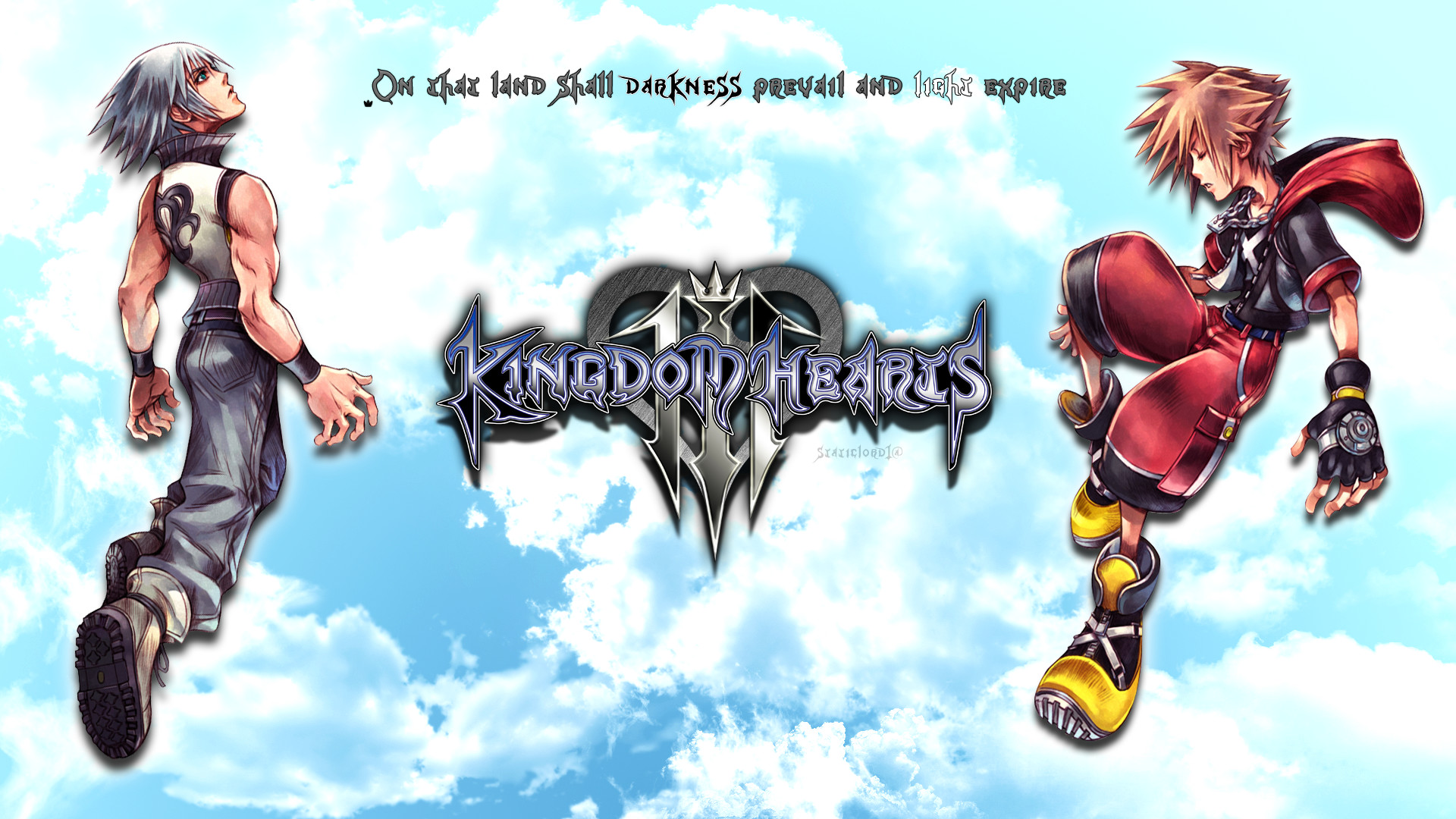 1920x1080 Kingdom hearts 3 Sora/Riku Wallpaper by static989 on DeviantArt