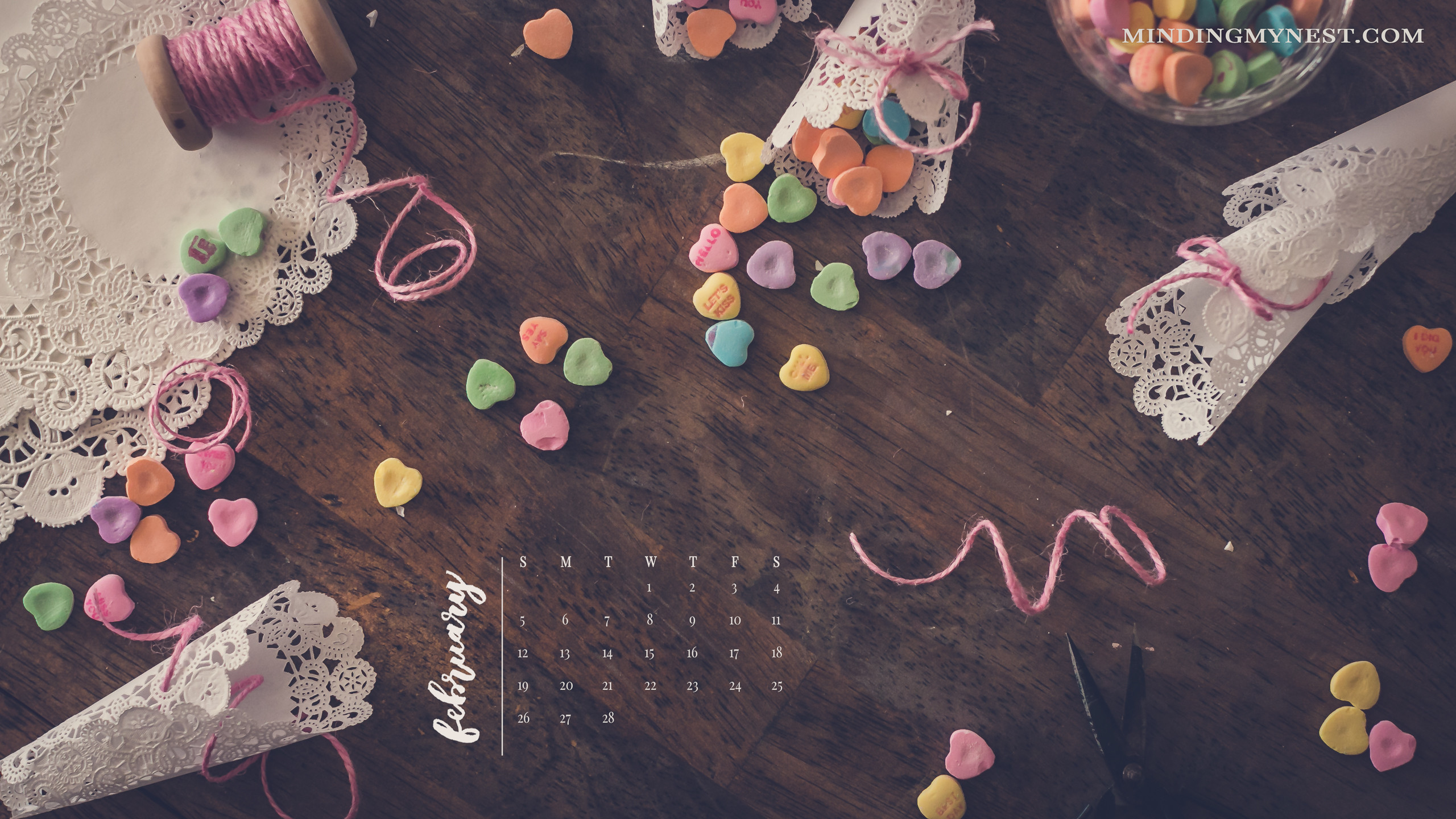 Desktop Wallpaper Calendar February 2018 47 Images