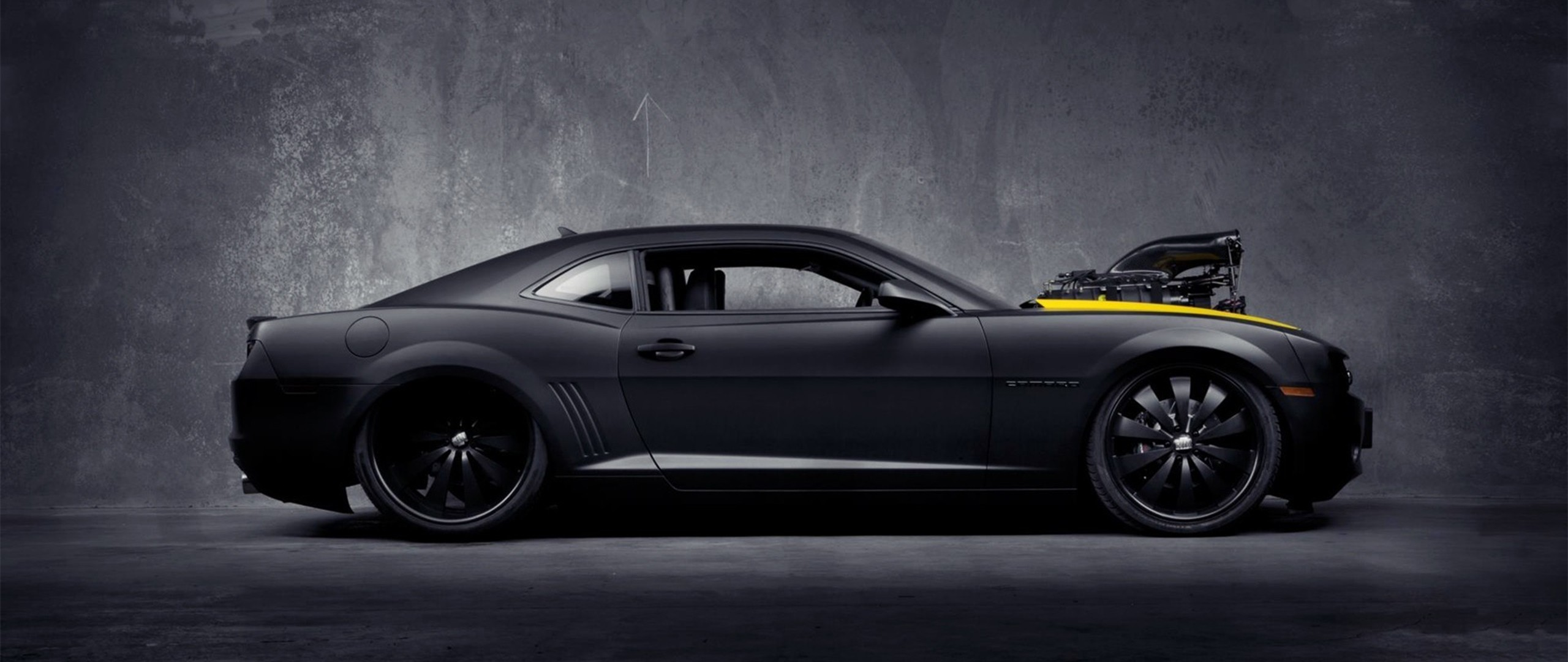 2560x1080 Bumblebee-Wallpaper – 434163-ultra-wide-car-Chevrolet_Camaro_Bumblebee