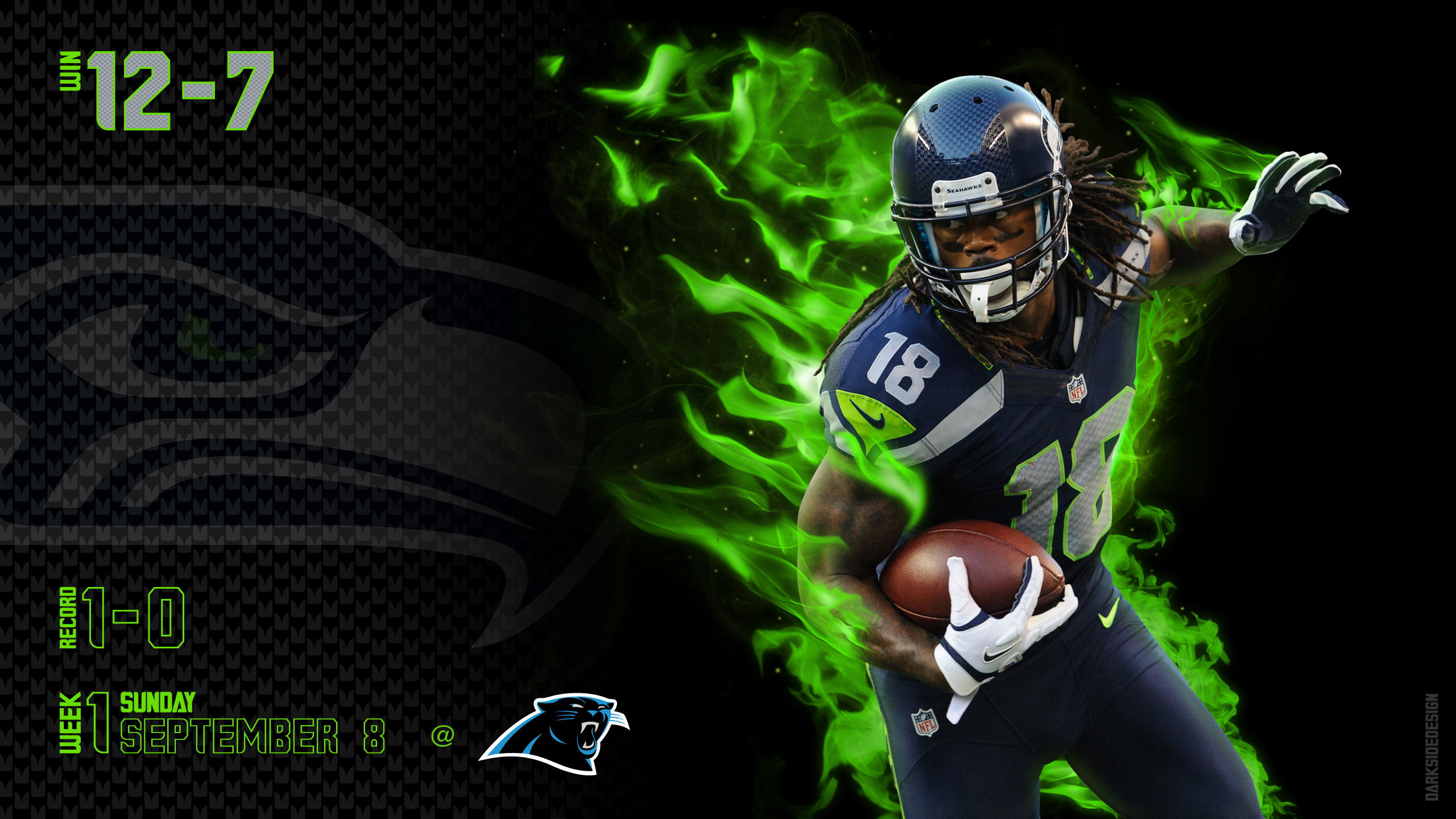 2560x1440 SEATTLE SEAHAWKS football nfl e wallpaper background