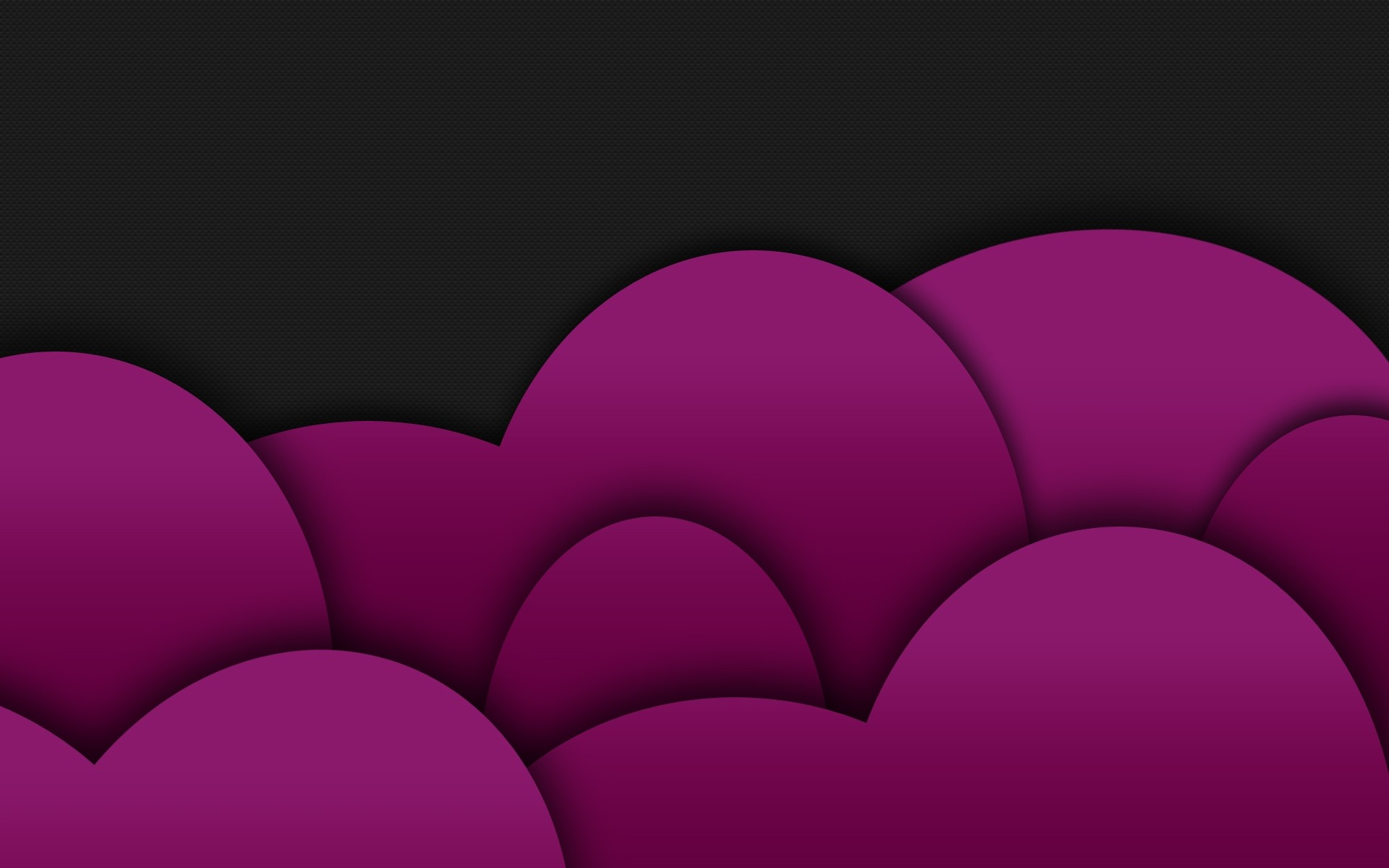 Purple and black hearts background