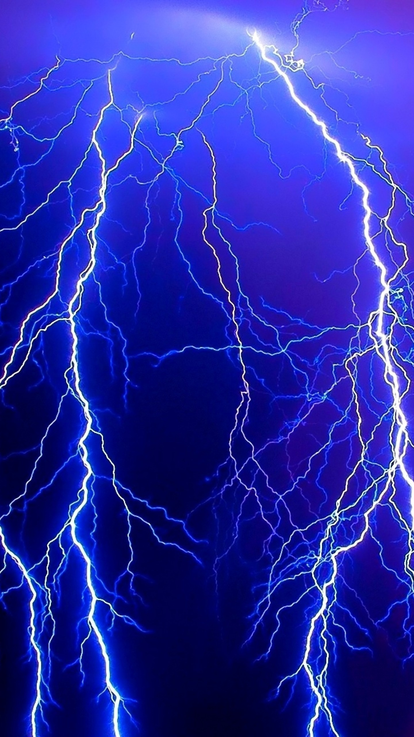 1440x2560 Preview wallpaper lightning, electricity, category, elements, danger,  night, lines,