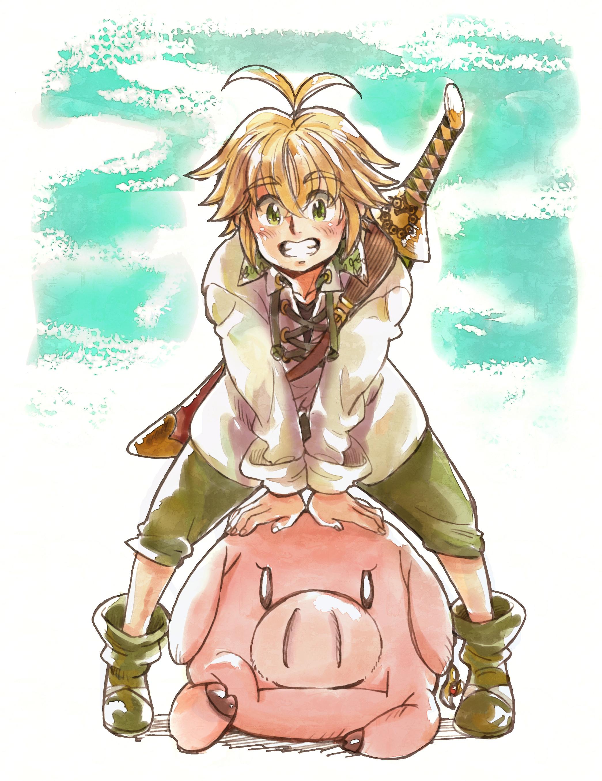 1984x1200 Anime Nanatsu No Taizai Meliodas Ban Elizabeth Liones Diane Sin Of Envy Fairy