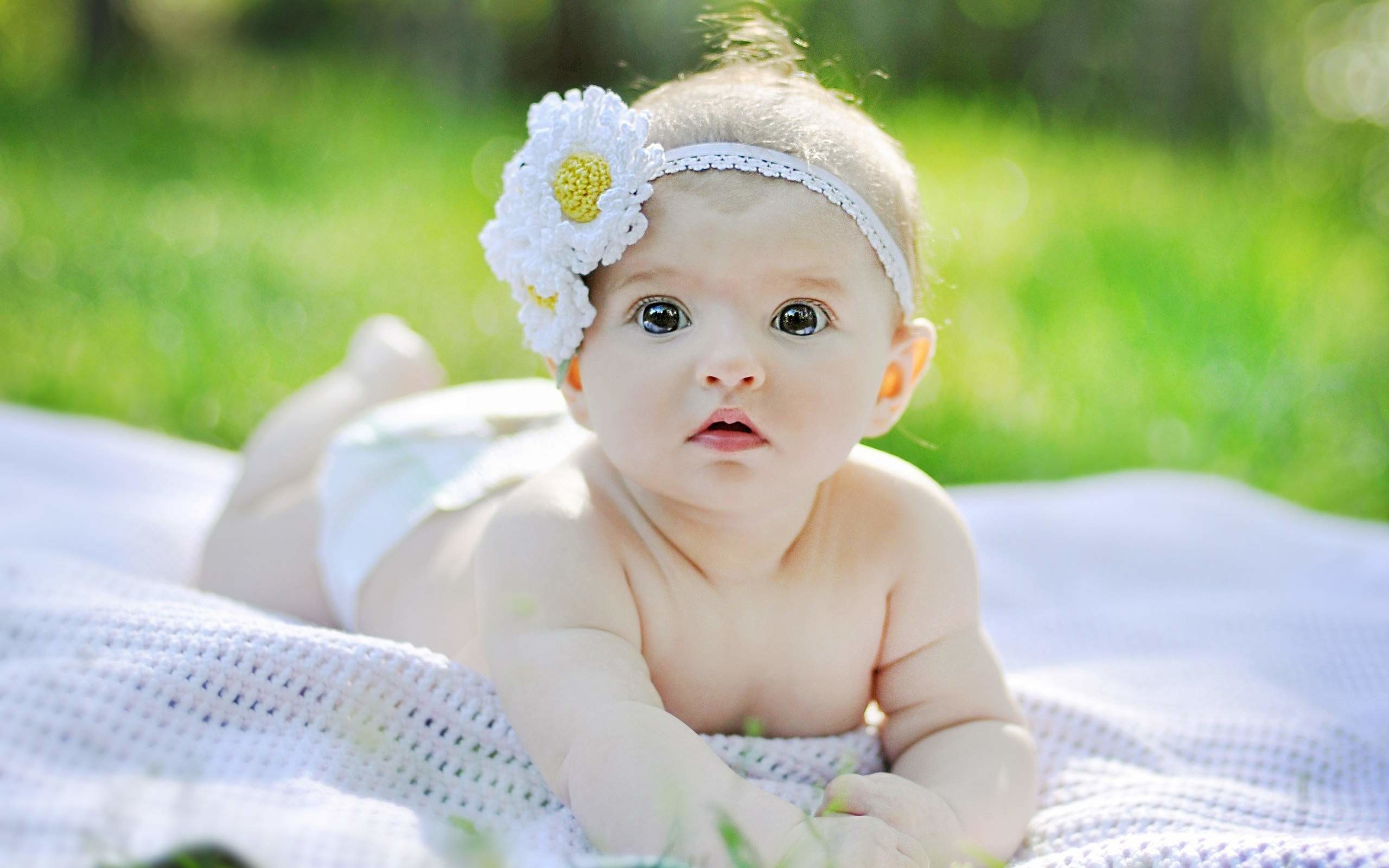 2560x1600 Cute Baby Girl Wallpaper HD For Desktop, Laptop & Mobile