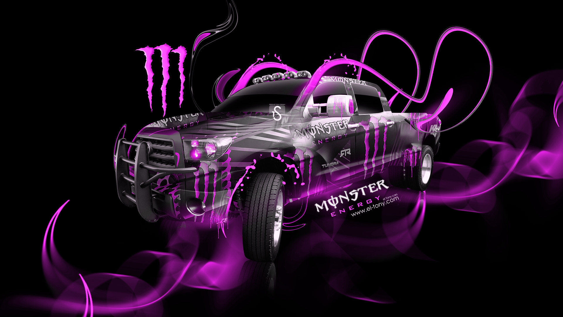 1920x1080 Blue Drink Energy Monster · HD Wallpaper | Background ID:410586