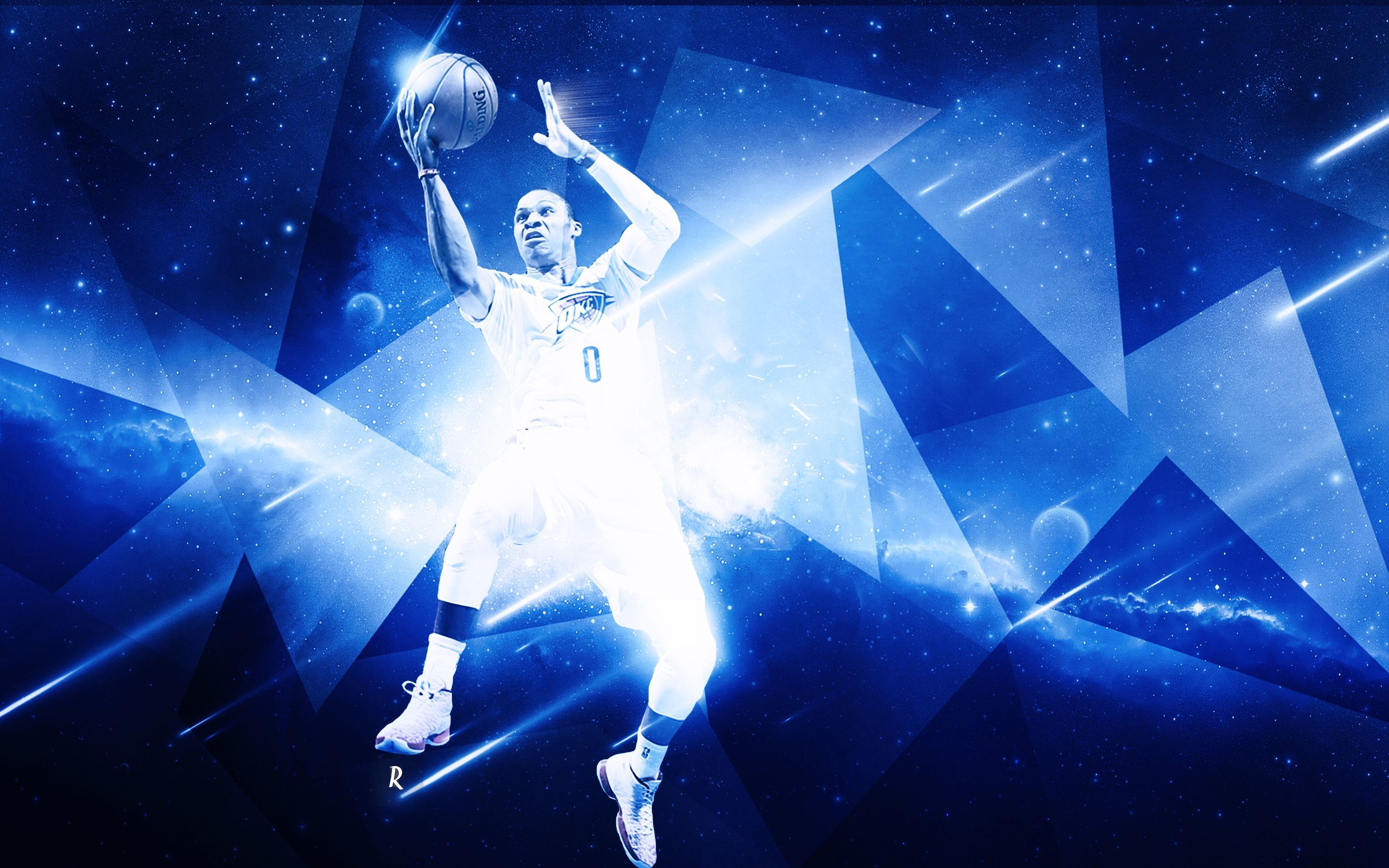 2880x1800 Russell Westbrook Wallpaper by rubanarts on DeviantArt