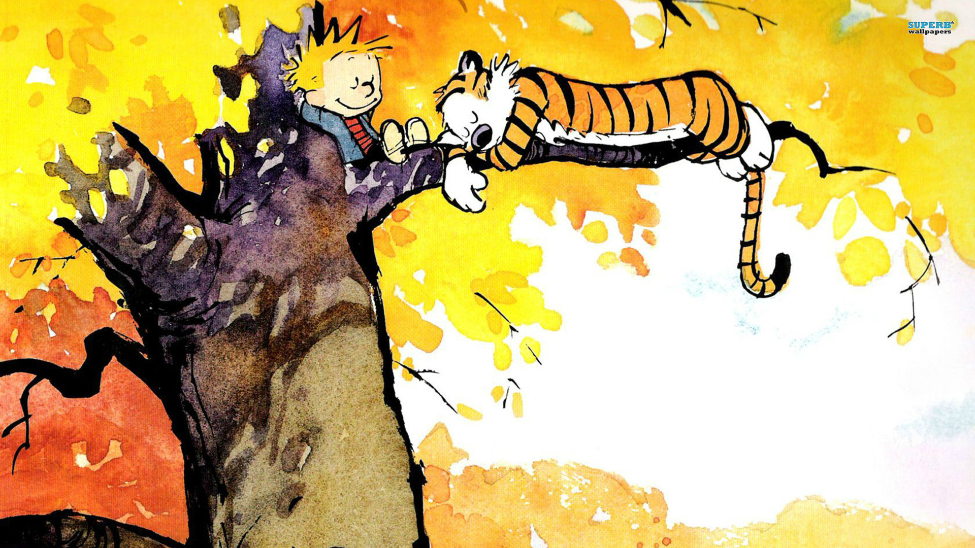 1920x1080 Images-calvin-and-hobbes-comics-cute-wallpapers