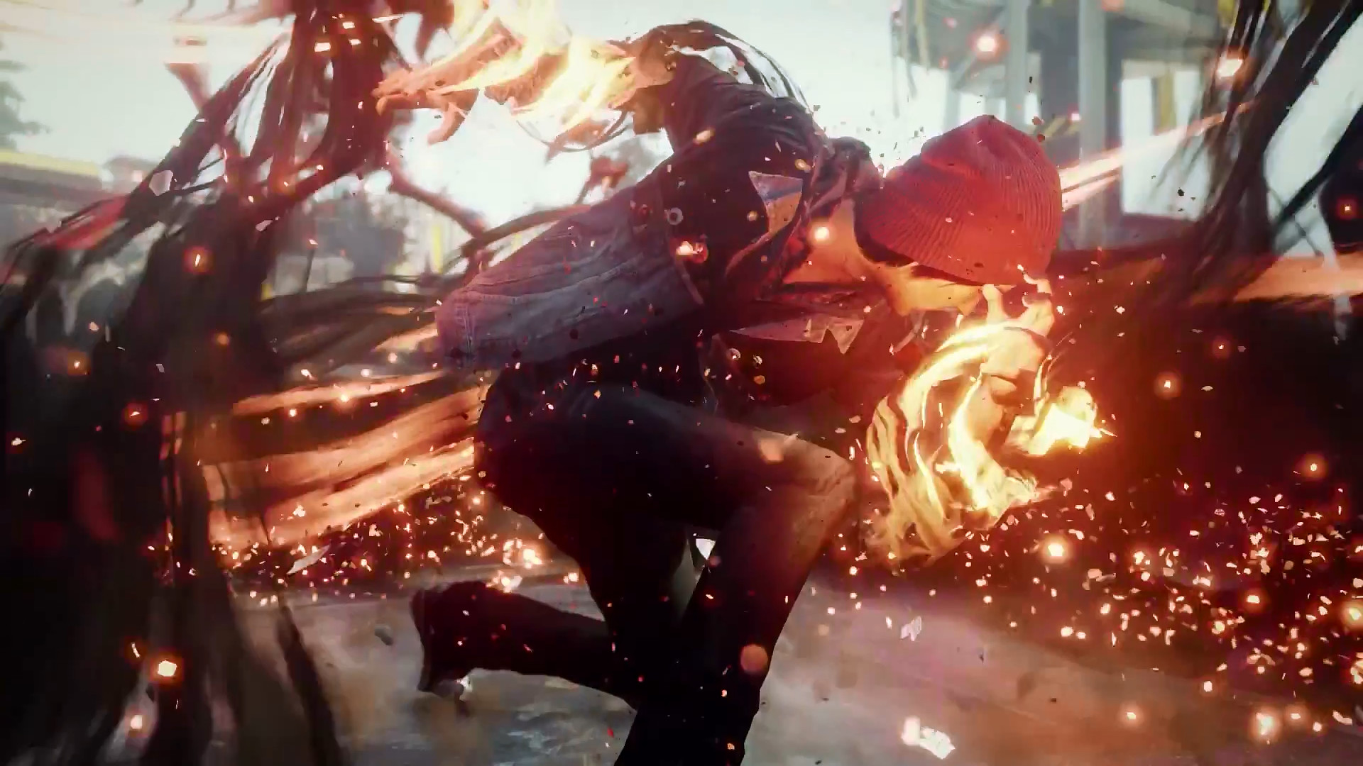 1920x1080 infamous second son ps plus game september