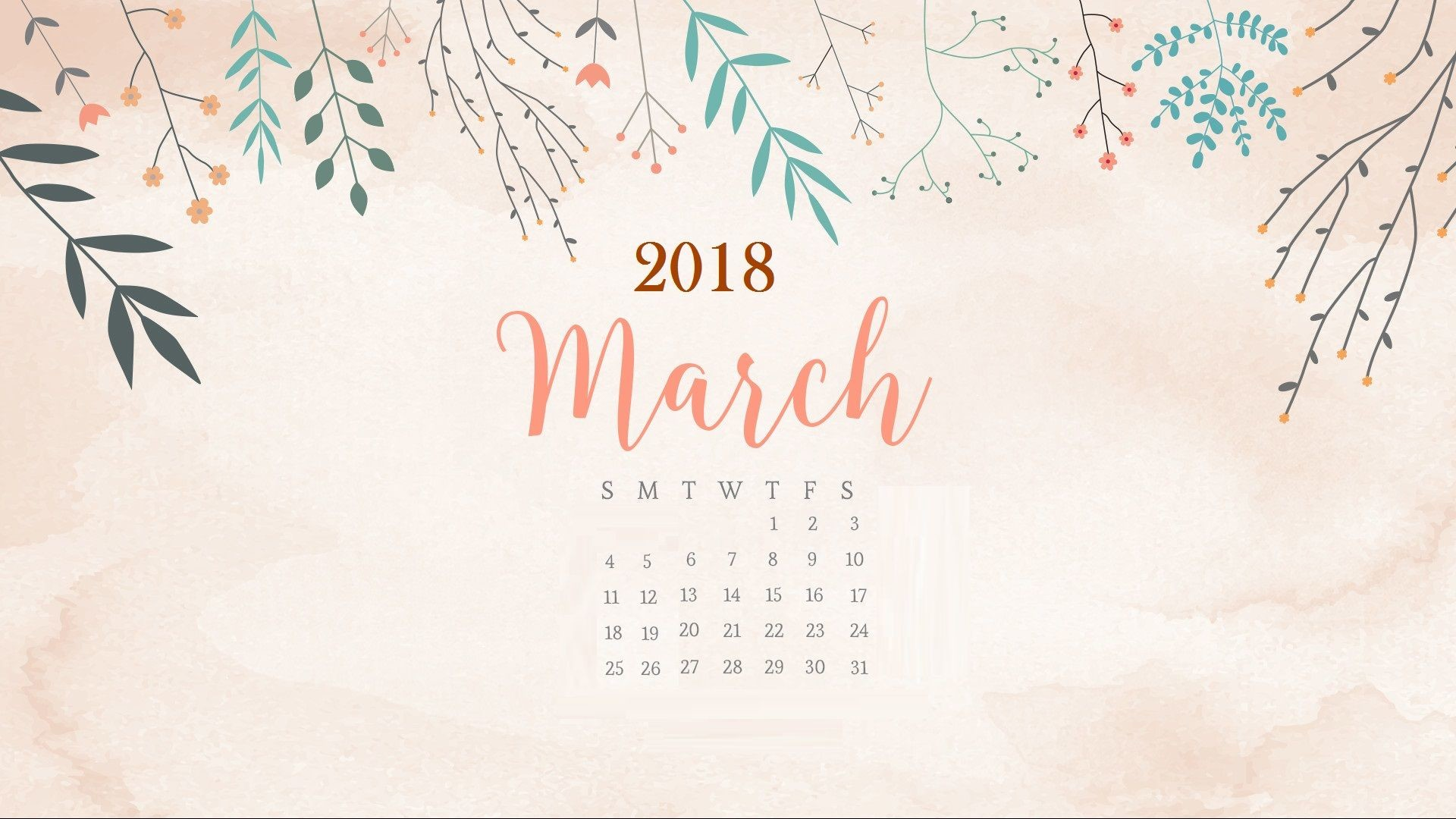 Wallpaper For Computer Calendar 2018 72 Images