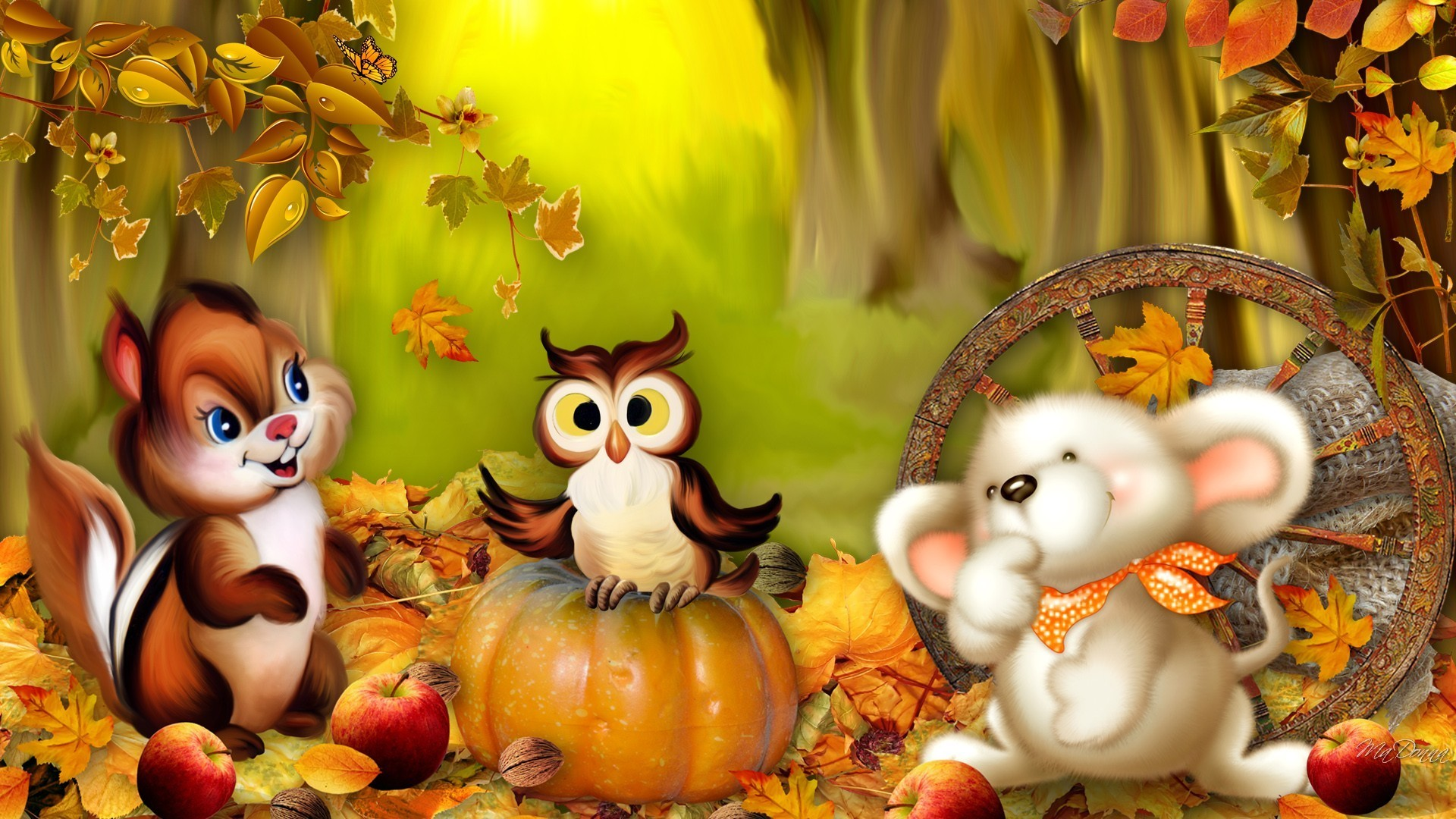 Fall Wallpaper Backgrounds With Pumpkins (55+ Images