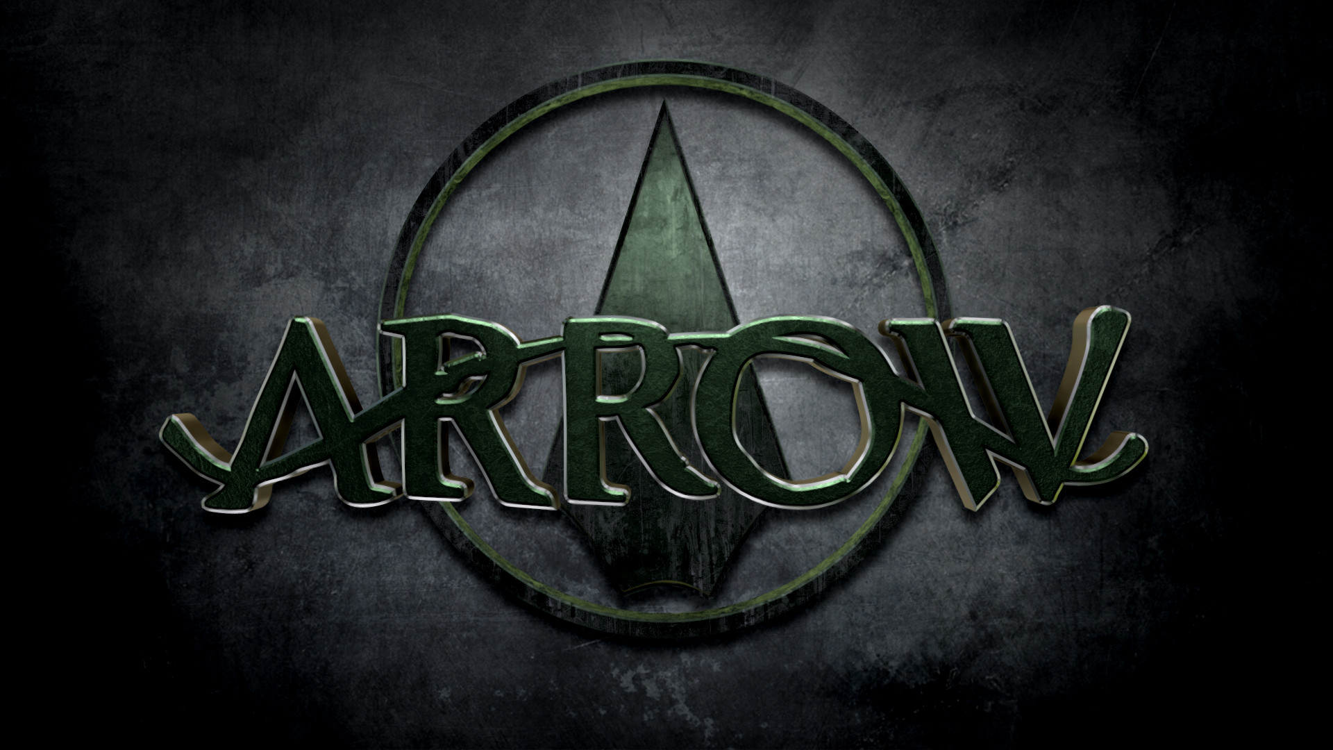 1920x1080 green arrow wallpaper