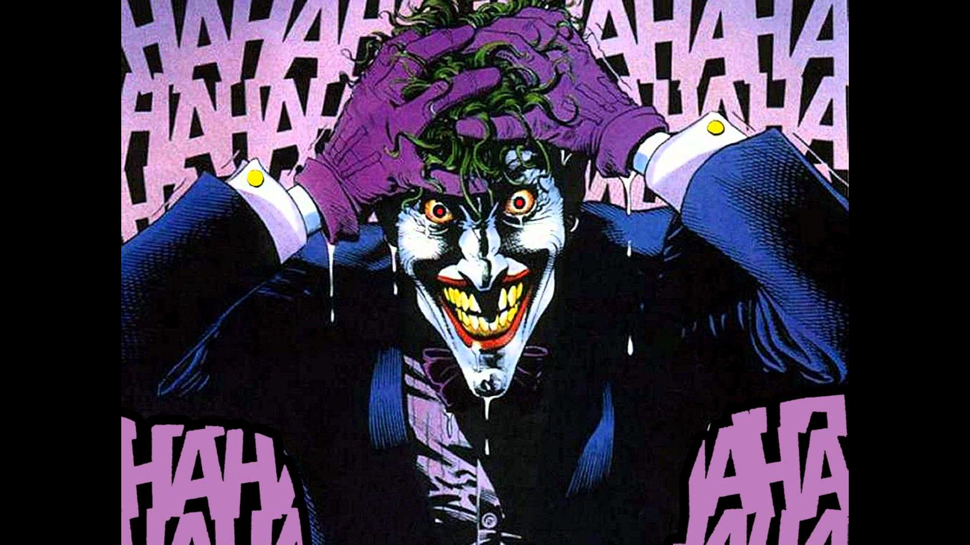 1920x1080 In the comics, The Joker escapes Arkham, shoots and paralyzes Barbara  Gordon in order to terrorize her father, Gotham City Police Commissioner  Jim Gordon