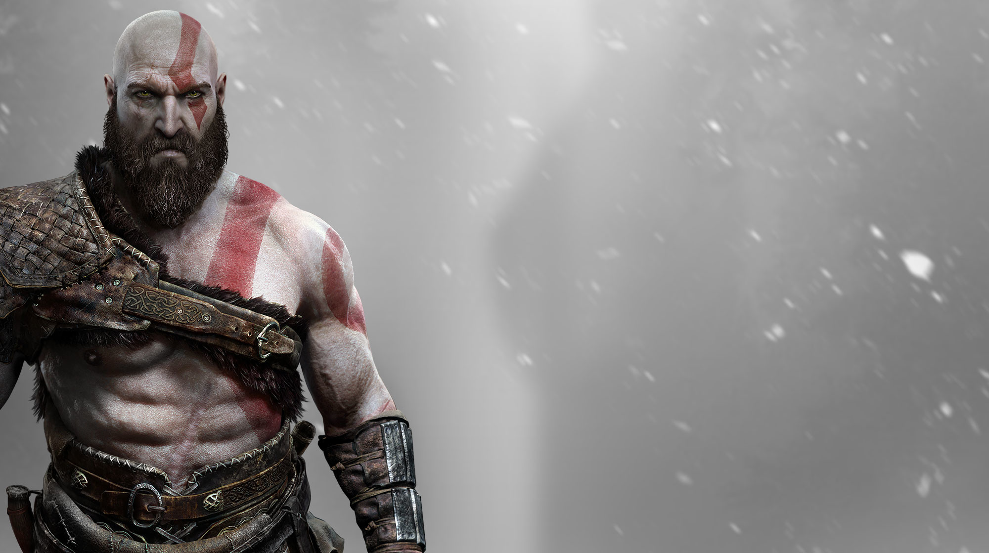 2000x1119 PS4 Exclusive God of War Gets Official Story and Setting Details and  Spectacular Animated Vista