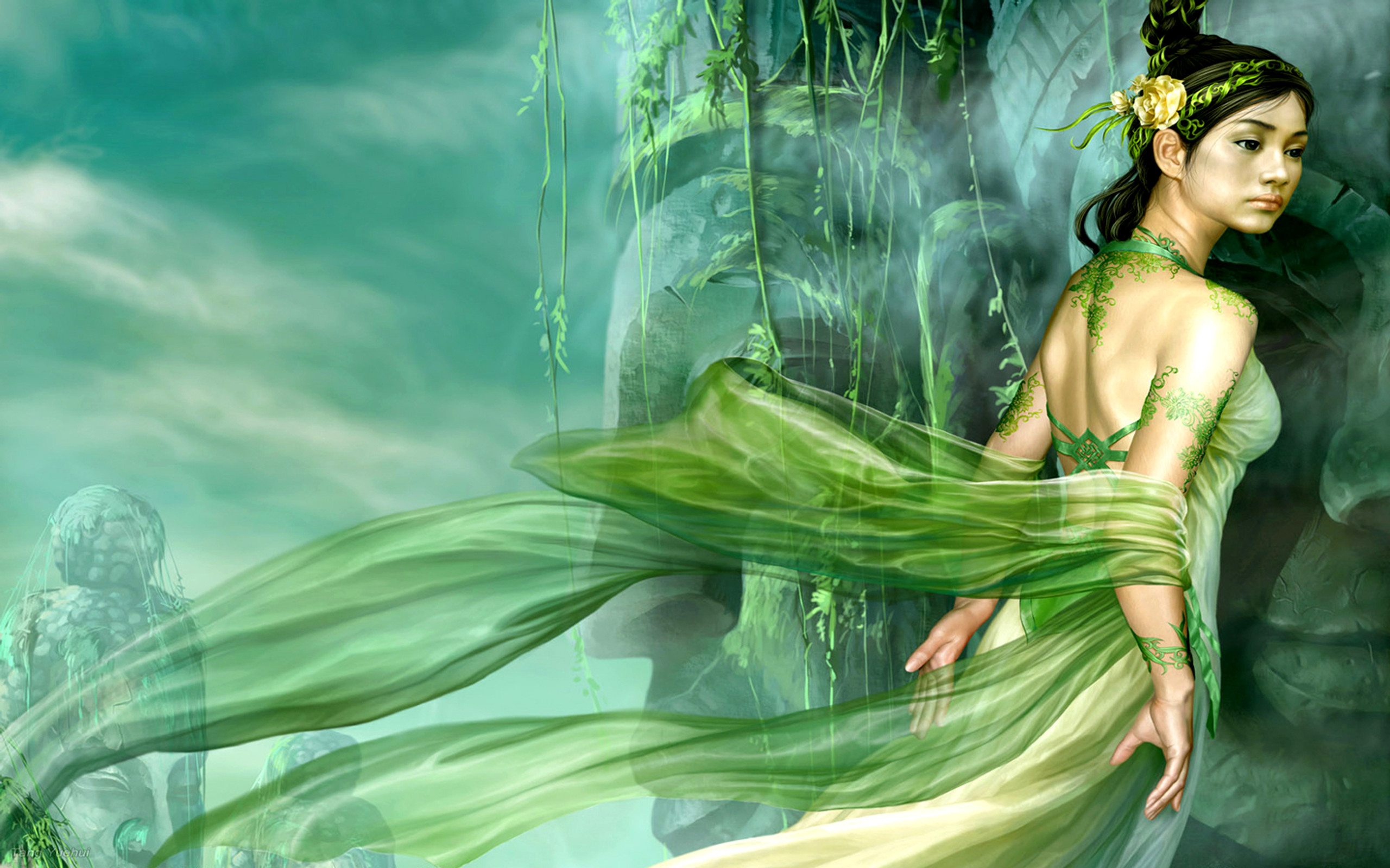 2560x1600 Jade Tattoo Computer Wallpapers, Desktop Backgrounds  Id: 121451