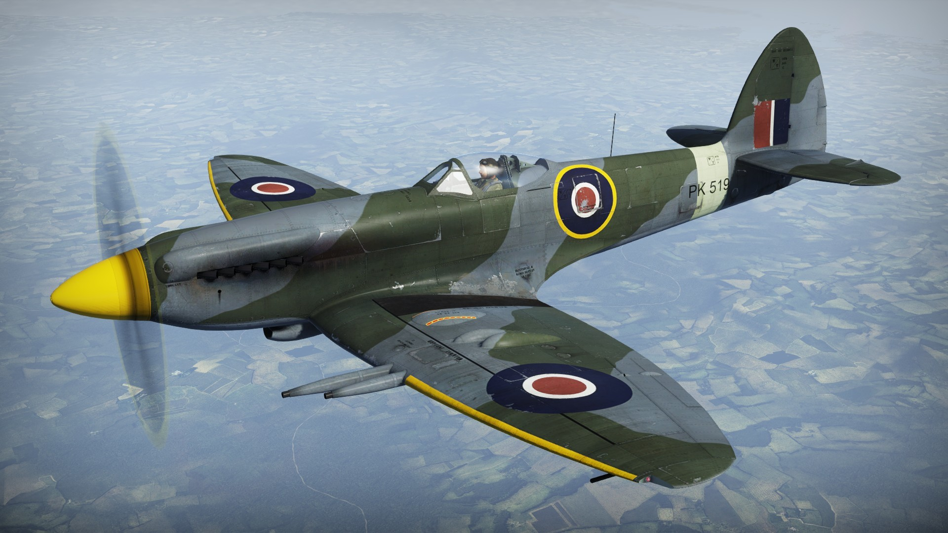 1920x1080 Supermarine Spitfire wallpaper | RAF Spitfire | Pinterest | Supermarine  spitfire, Aircraft and Planes