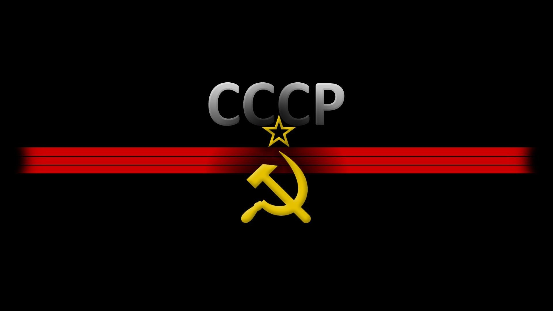 1920x1080 soviet union the hammer and sickle star black background