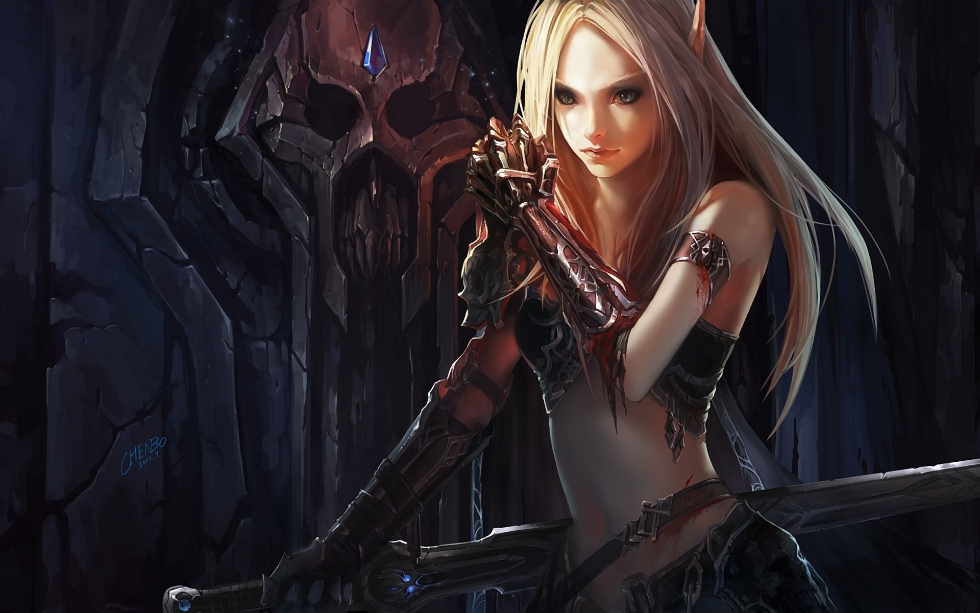 3000x1875 World Of Warcraft Sylvanas Dark Lady Wallpapers HD Desktop And Mobile Backgrounds