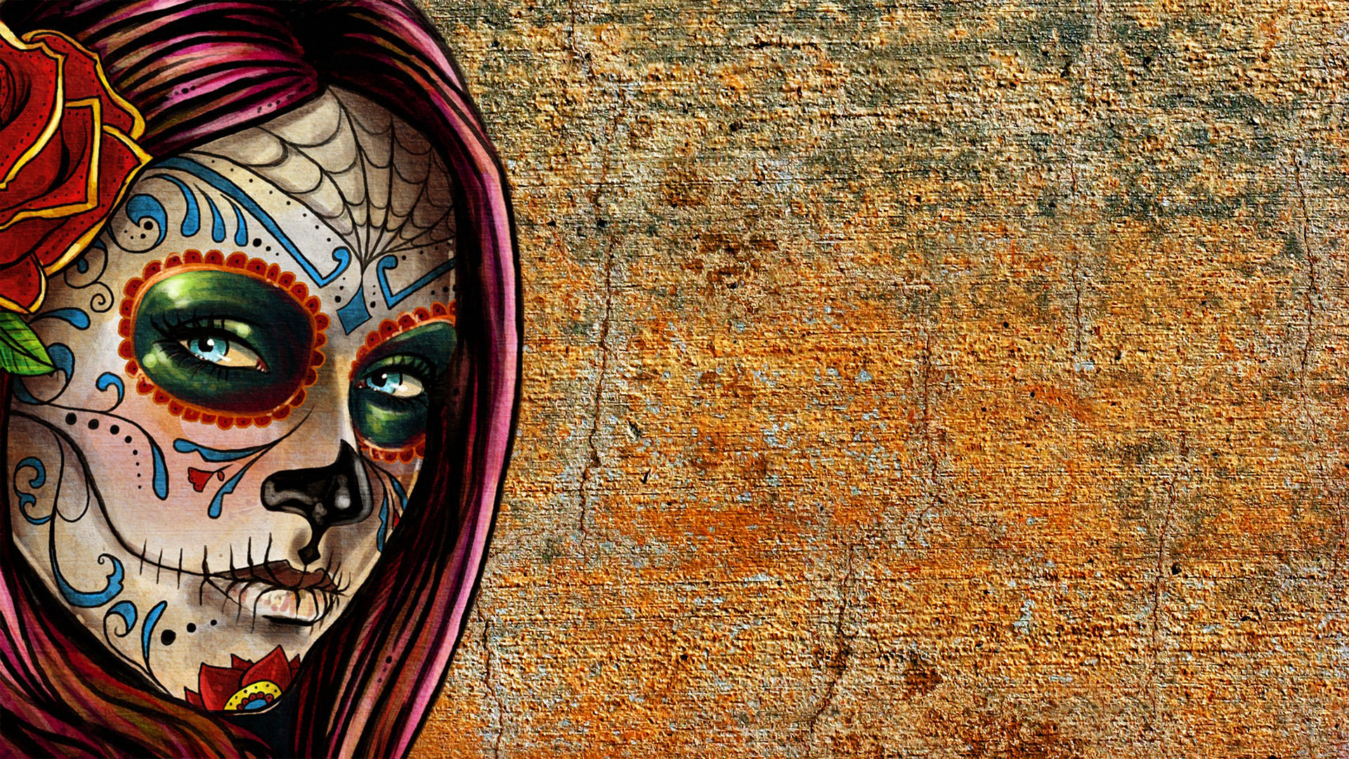 Sugar Skull Desktop Wallpaper 60 Images