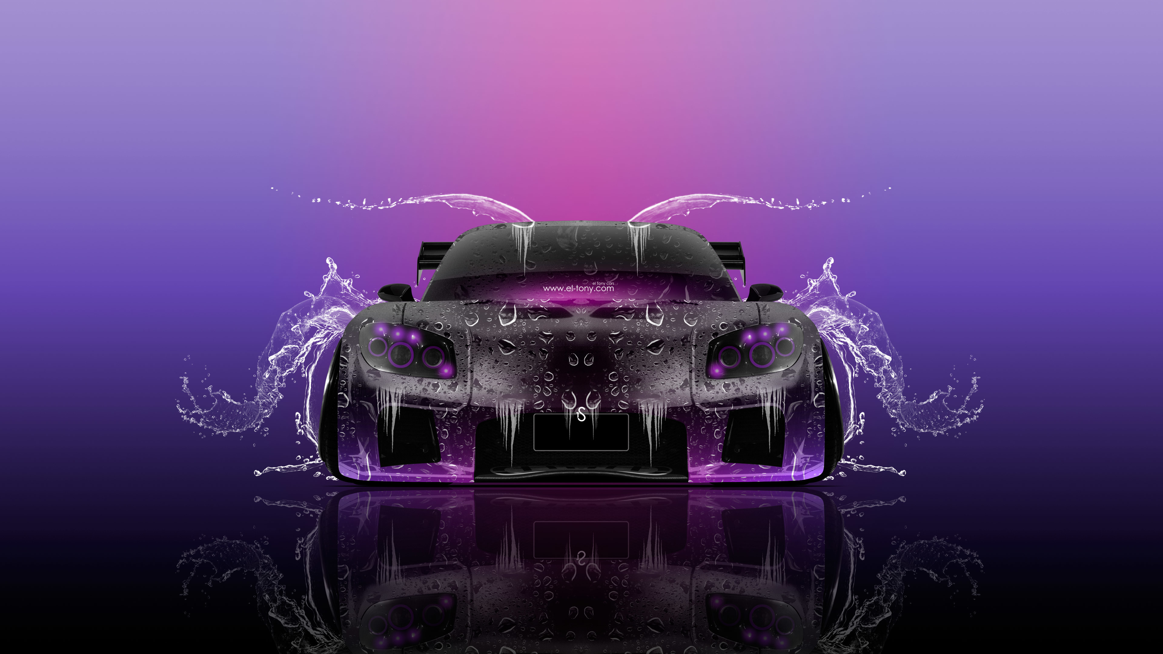 Lovely 1920x1080 Mazda RX7 VeilSide JDM Back Water Car 2014 | El Tony