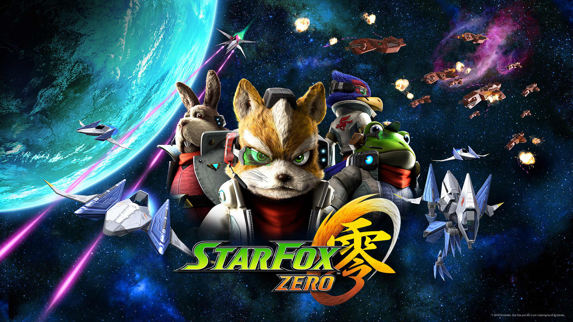 1920x1080 Wallpapers. Star Fox Zero Vehicles Wallpaper