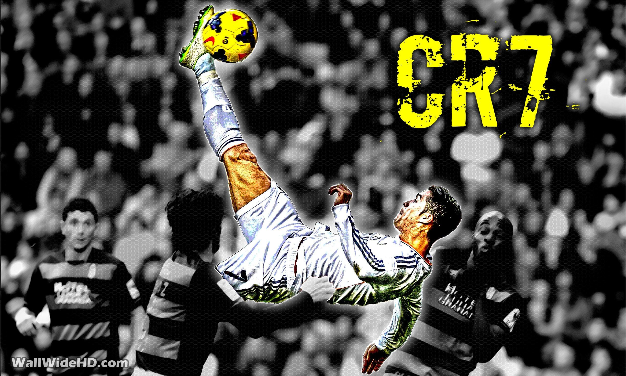 2560x1536 CR7 Real Madrid Overhead Kick Wallpaper Wide or HD | Artistic .