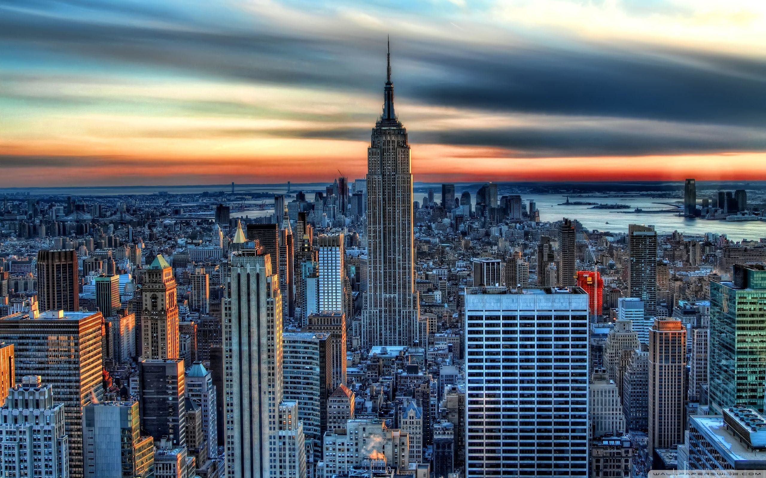 2560x1600 Empire State Building HDR ❤ 4K HD Desktop Wallpaper for 4K Ultra HD .