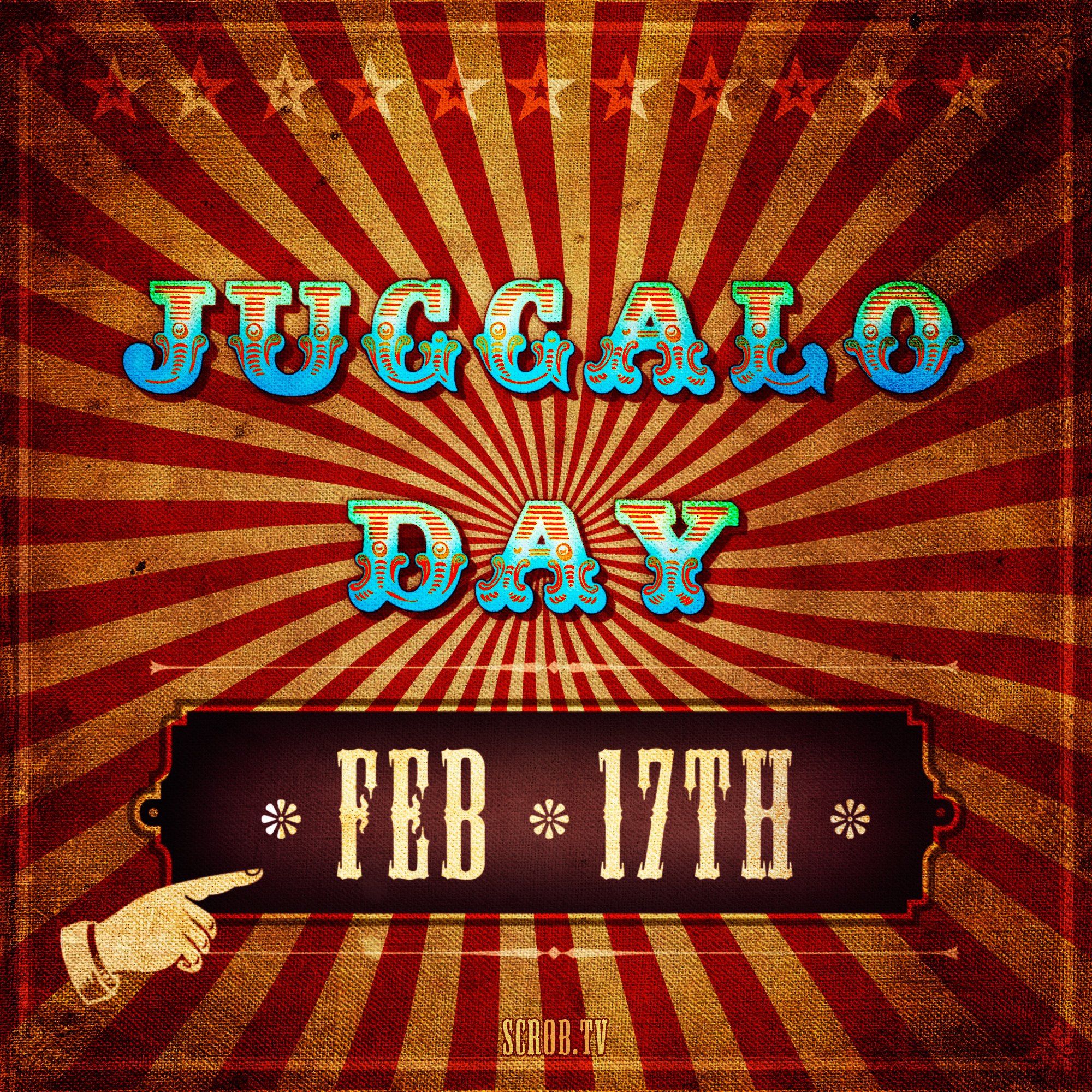 2000x2000 Juggalo Art: Juggalo Day Poster by SCROB