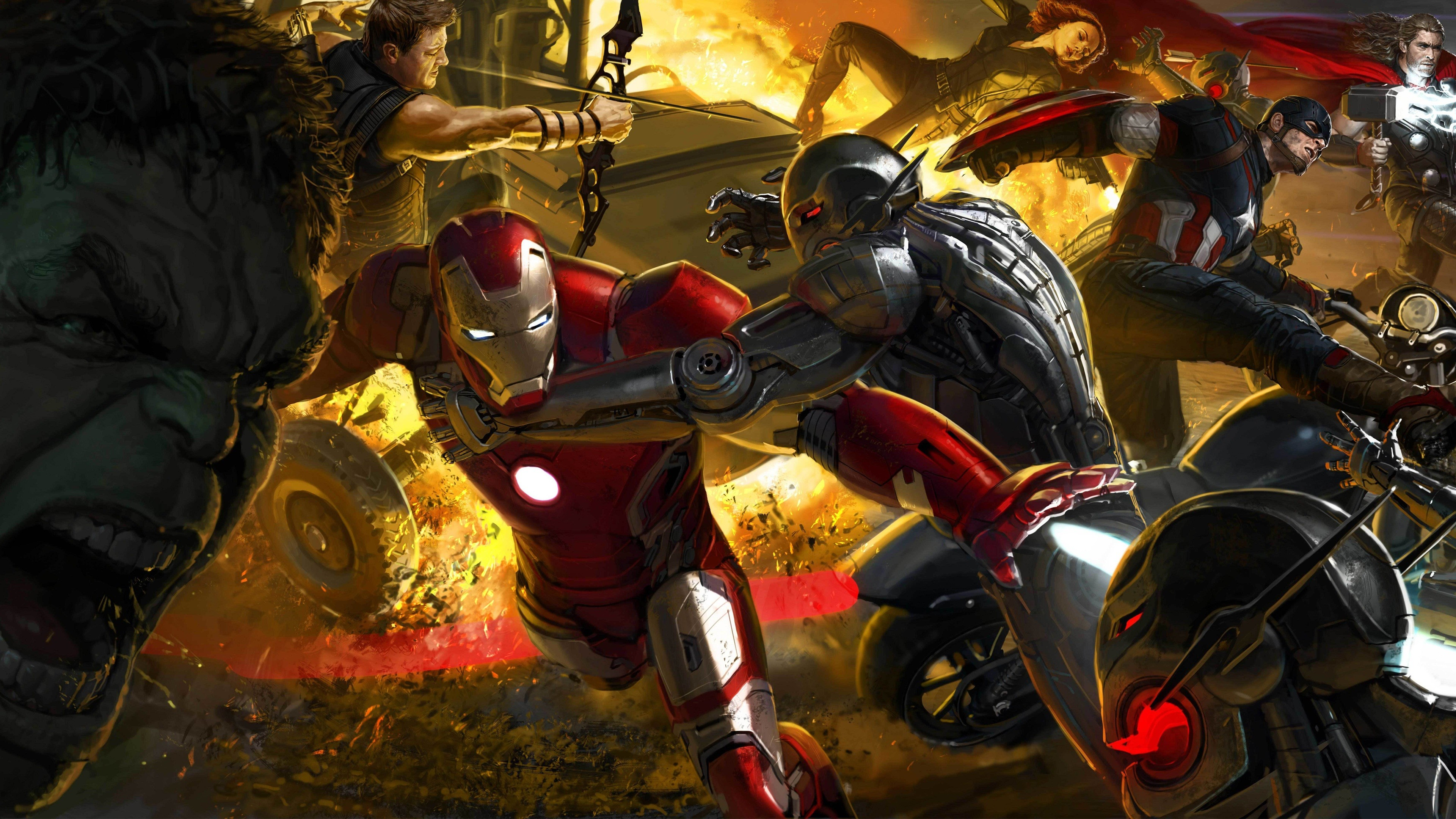 3840x2160 Tags:  Avengers ...