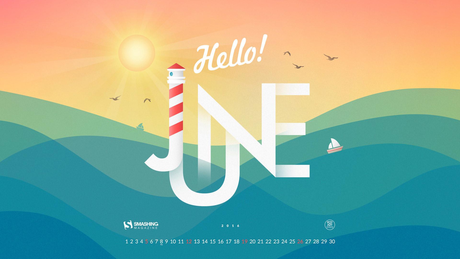 Calendar Background June : Desktop wallpapers calendar june  images