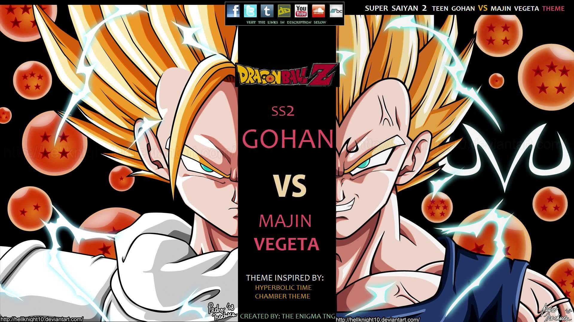 1920x1080 Goku Vegeta Wallpaper