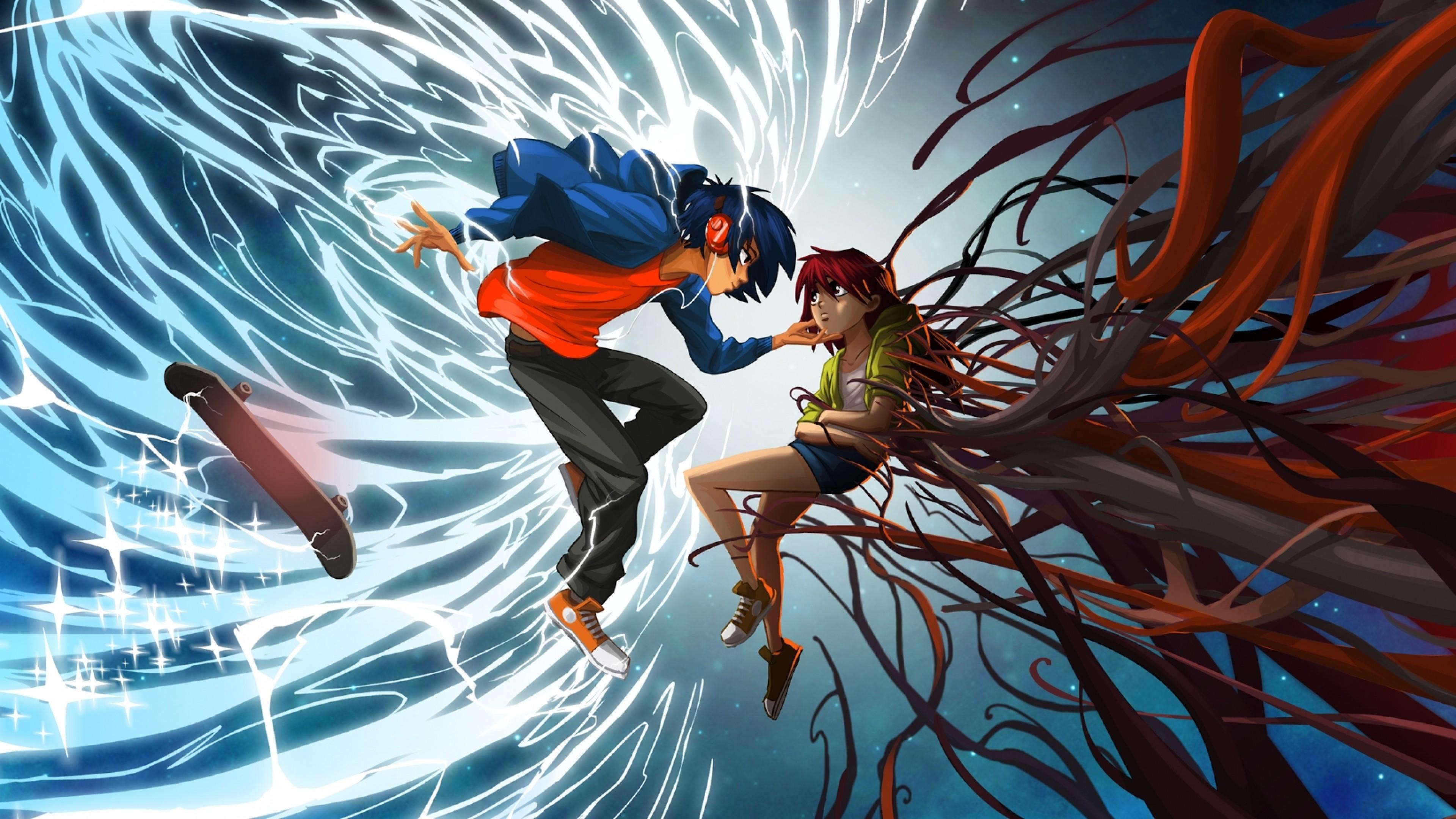 Anime gamer wallpaper 71 images - Anime gamer boy ...