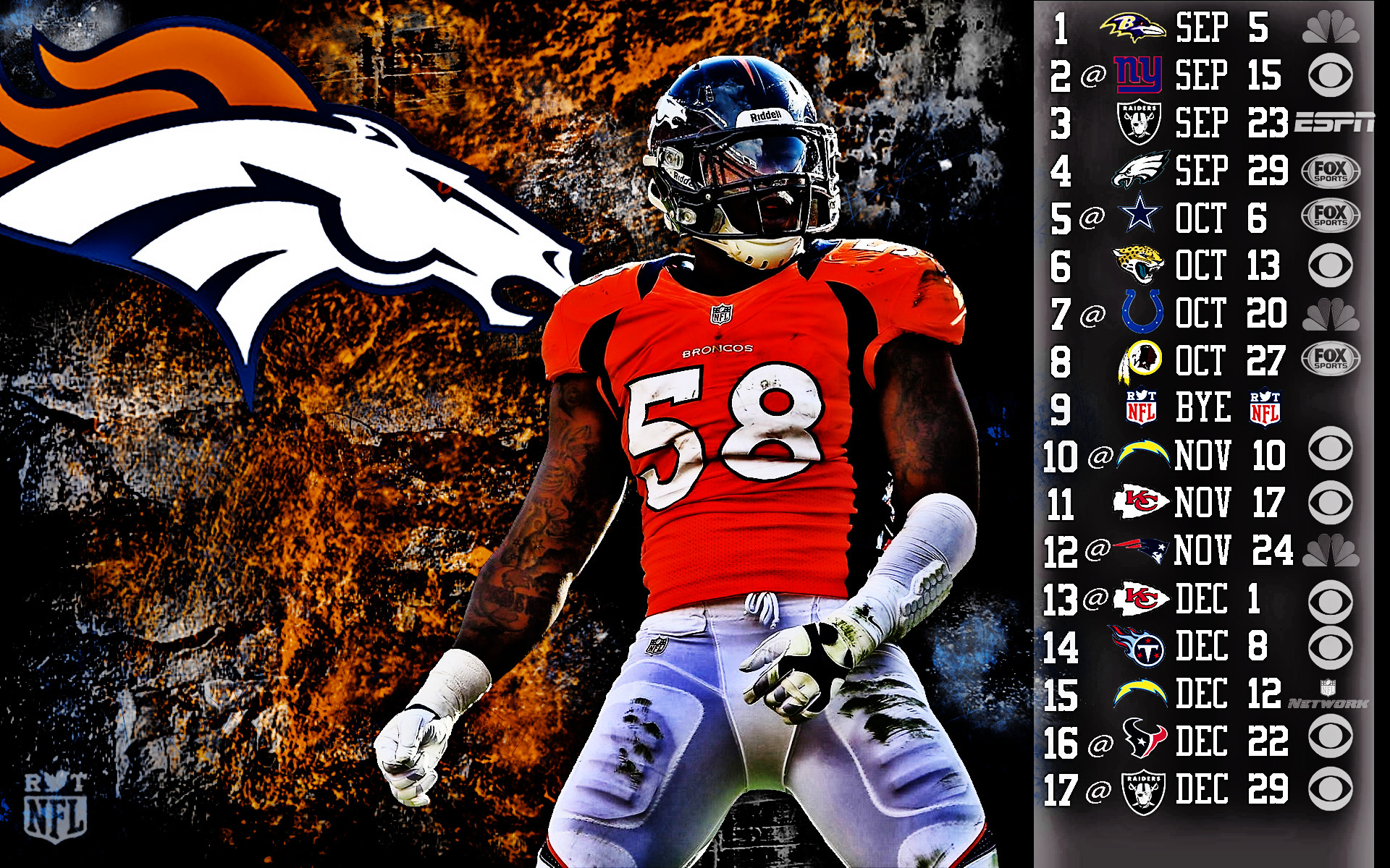 Denver broncos pictures wallpaper 76 images 1920x1080 voltagebd