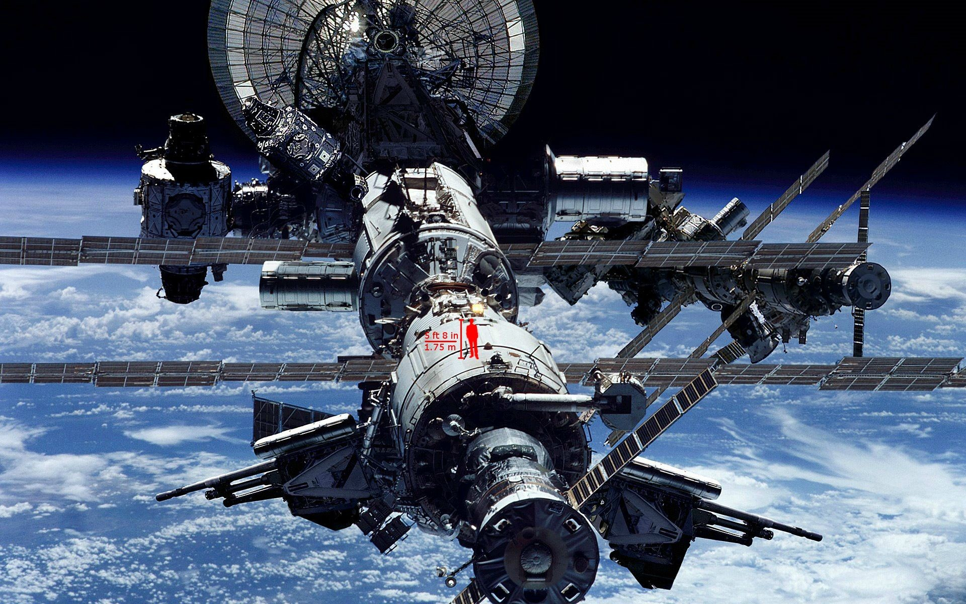 1920x1200 pictureInternational Space Station ...