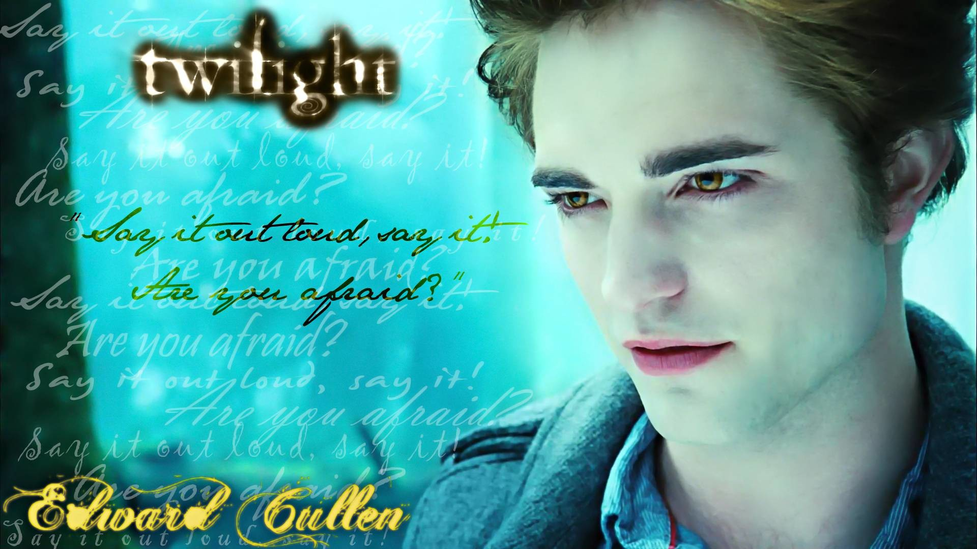 Twilight Edward Cullen Wallpaper (70+ images)