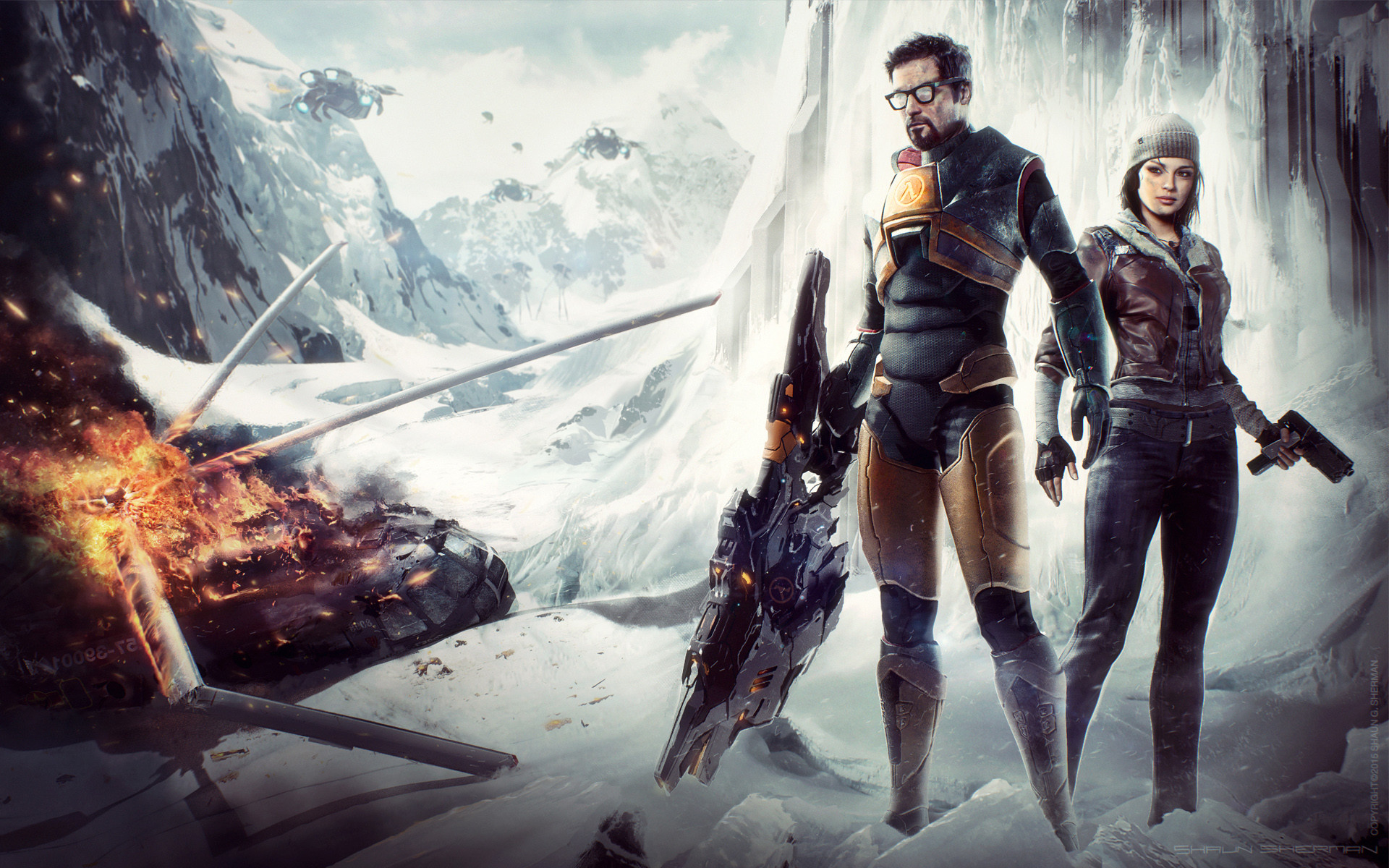 1920x1200 Gordon Freeman Half Life