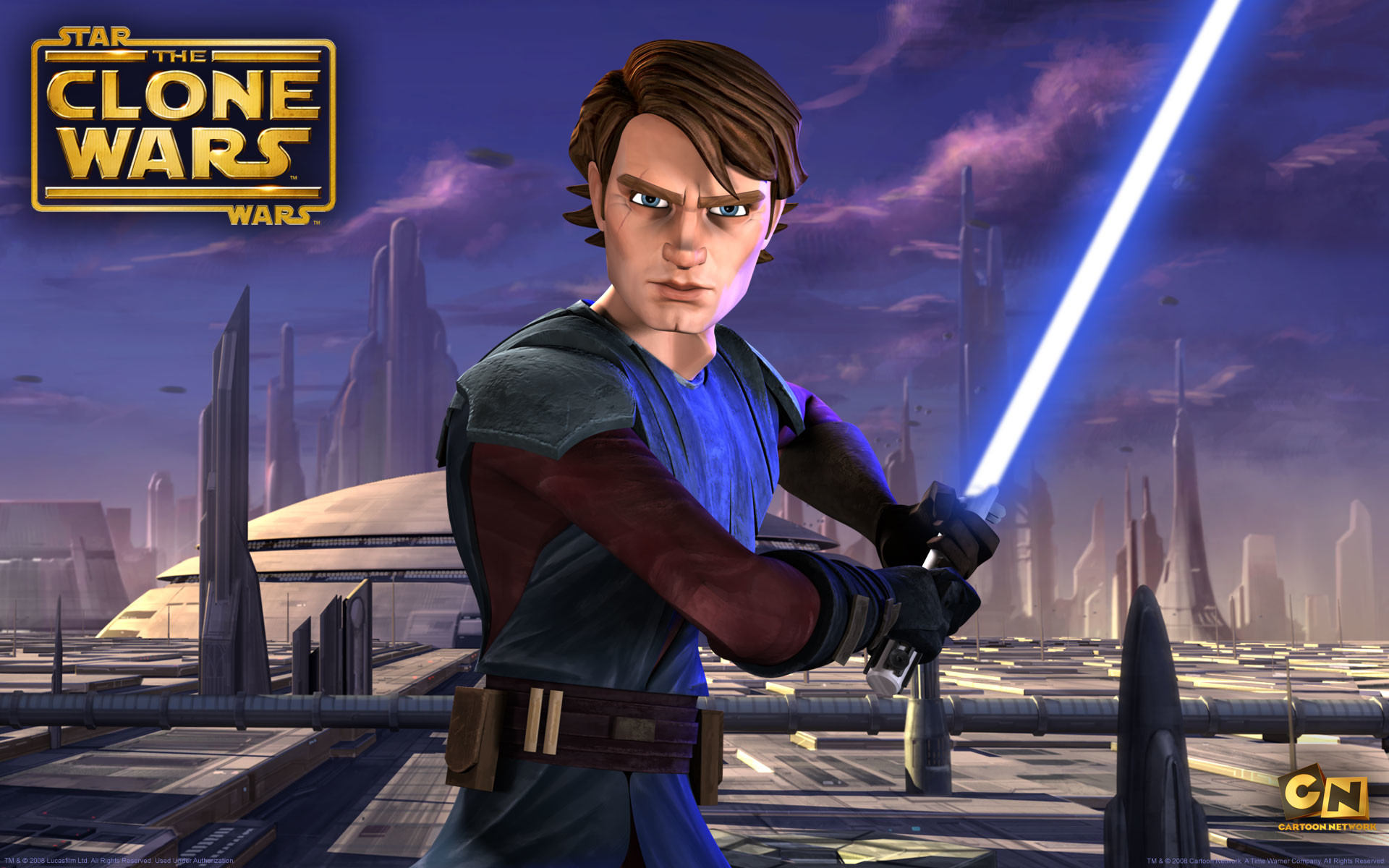 1920x1200 Anakin Skywalker from The Clone Wars wallpaper - Click picture for high  resolution HD wallpaper