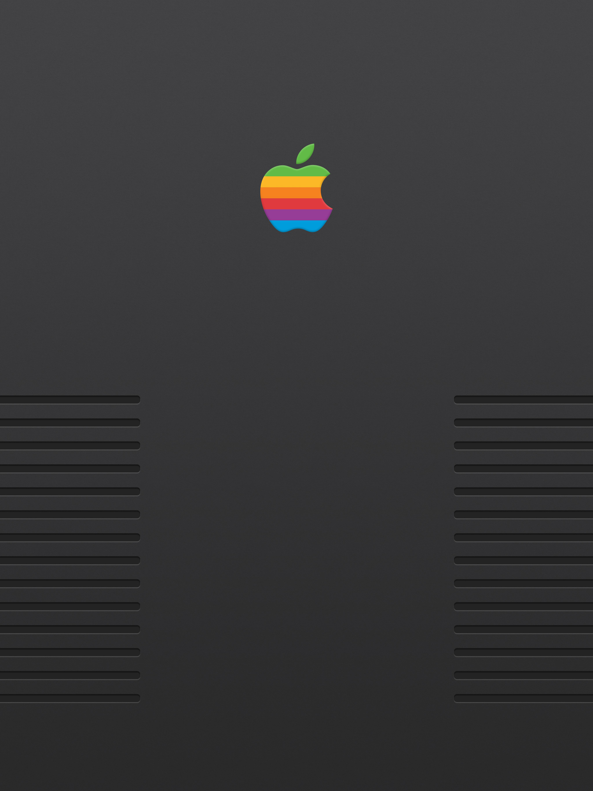 2048x2732 Wallpaper Weekends: Retro Apple for iPhone, iPad, Mac, and Apple Watch