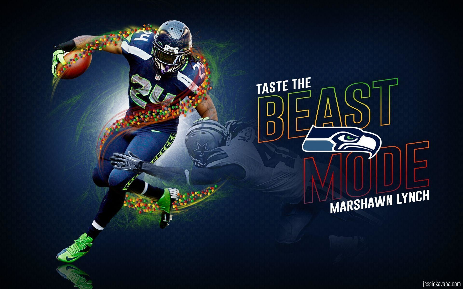 1920x1200 Marshawn Lynch Wallpaper