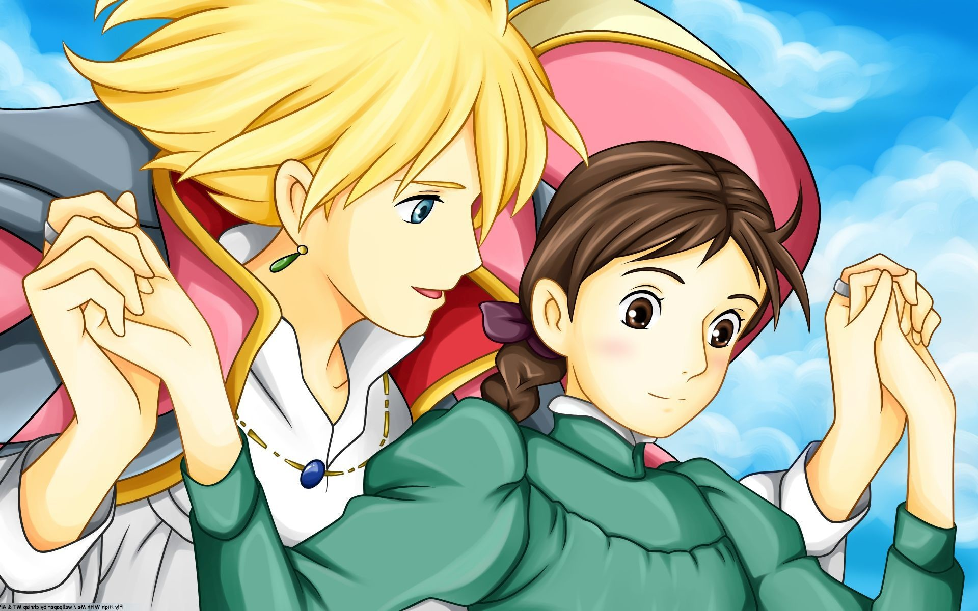 1920x1200 Movie Howls Moving Castle Wallpaper
