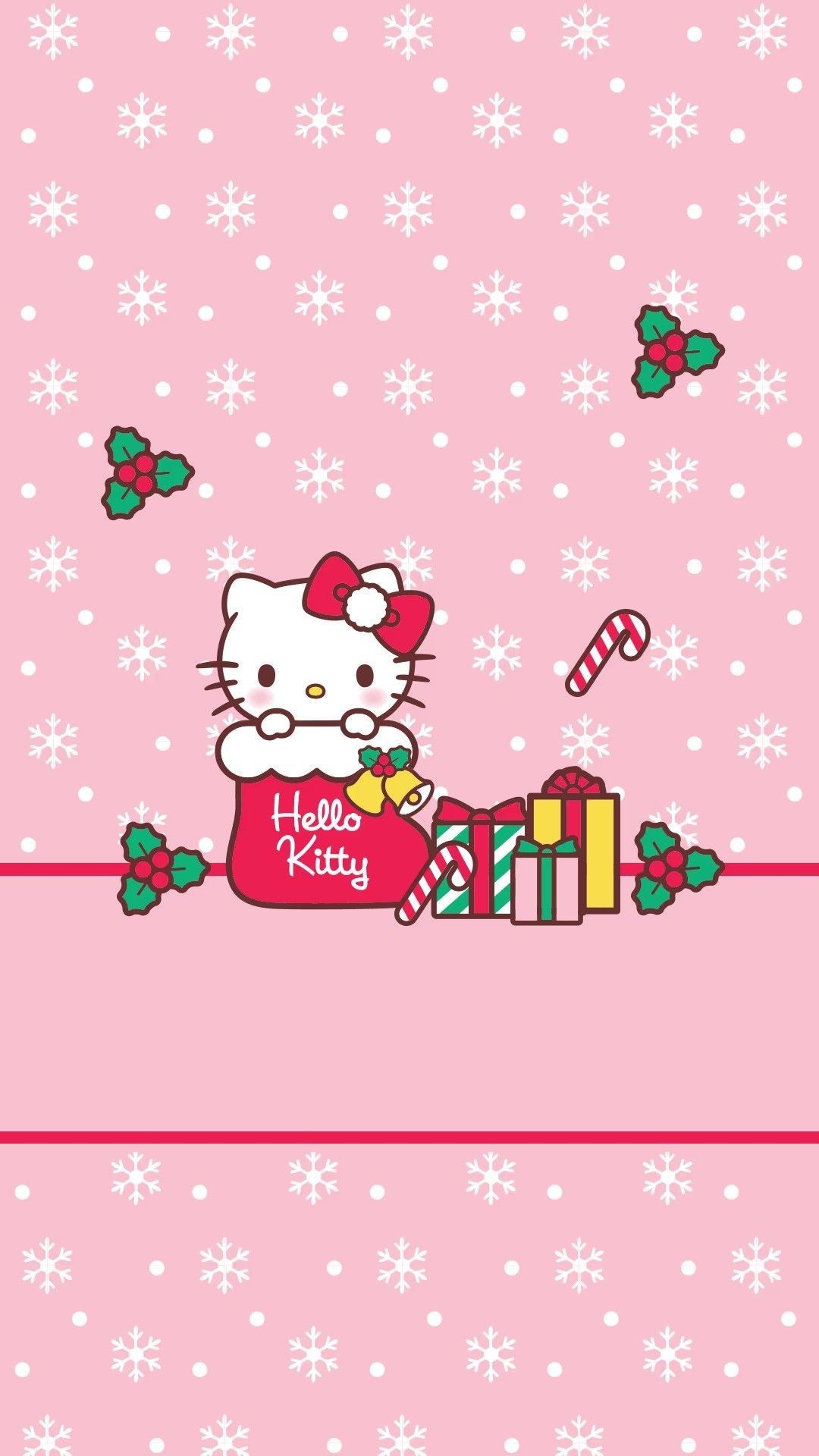 Hello Kitty Merry Christmas Wallpaper (65+ images)