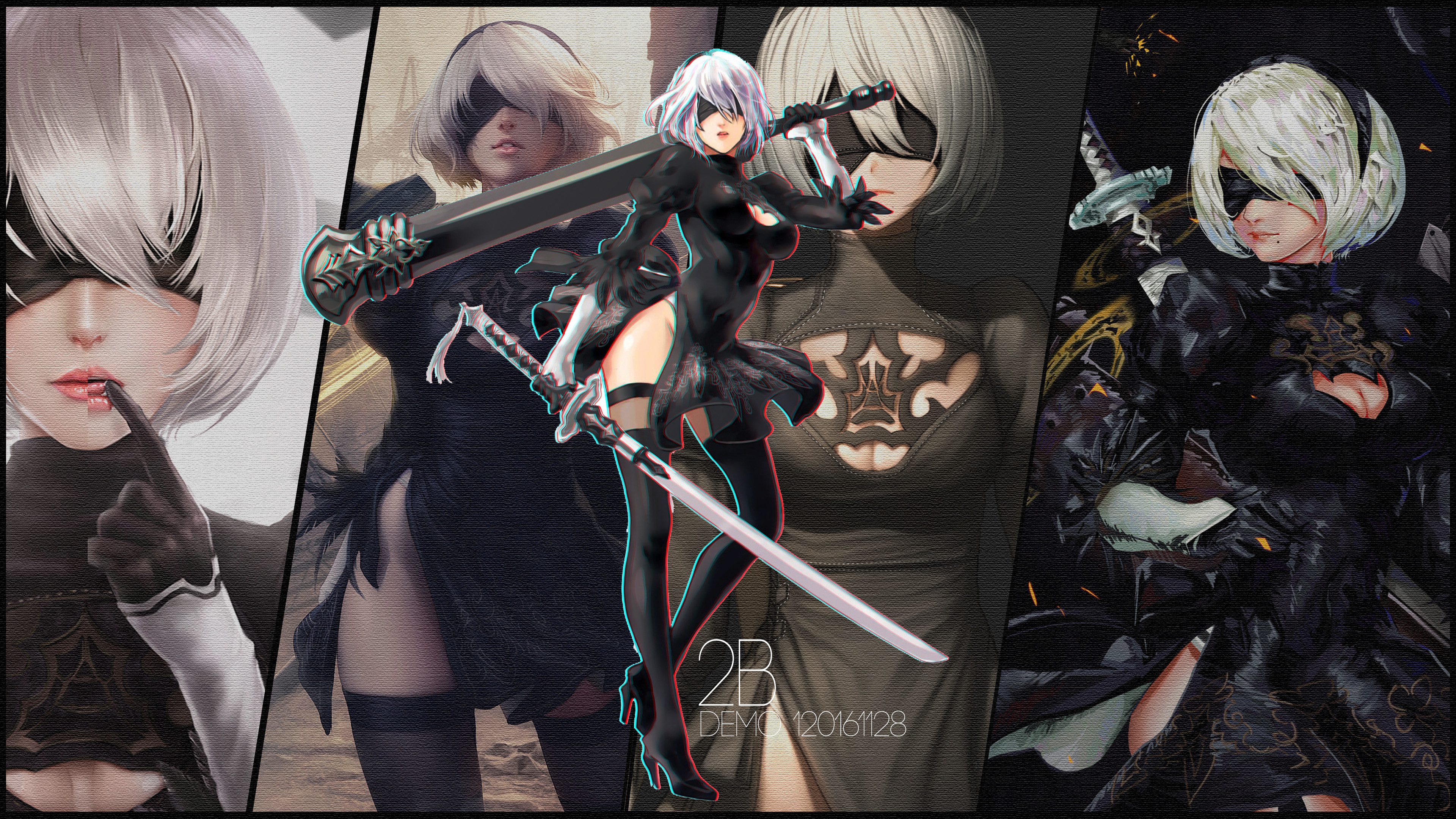 Nier Automata Fan Art Wallpaper 01 1920x1080: Nier Replicant Wallpaper (80+ Images