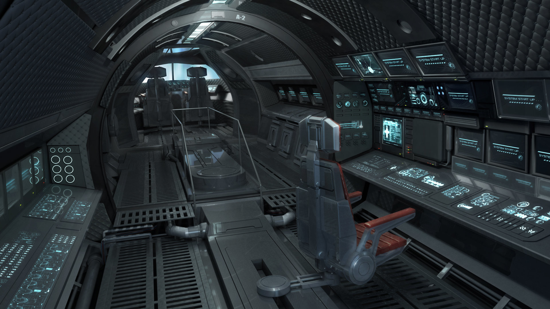 Sci Fi Control Panel Wallpaper : Spaceship control panel wallpaper images