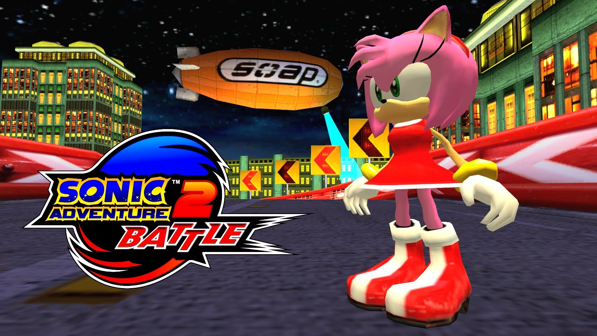 1920x1080 Sonic Adventure 2: Battle - Radical Highway - Amy (No HUD) [REAL Full HD,  Widescreen] 60 FPS - YouTube