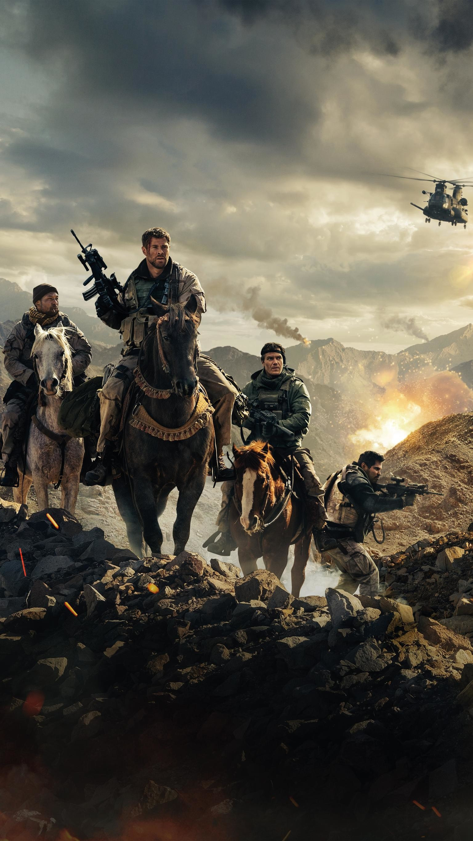 "1536x2732 Wallpaper for ""12 Strong"" ..."