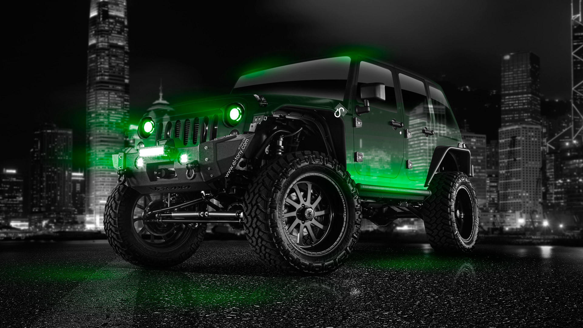 1920x1080 Preview Wallpaper Jeep Wrangler Car Suv
