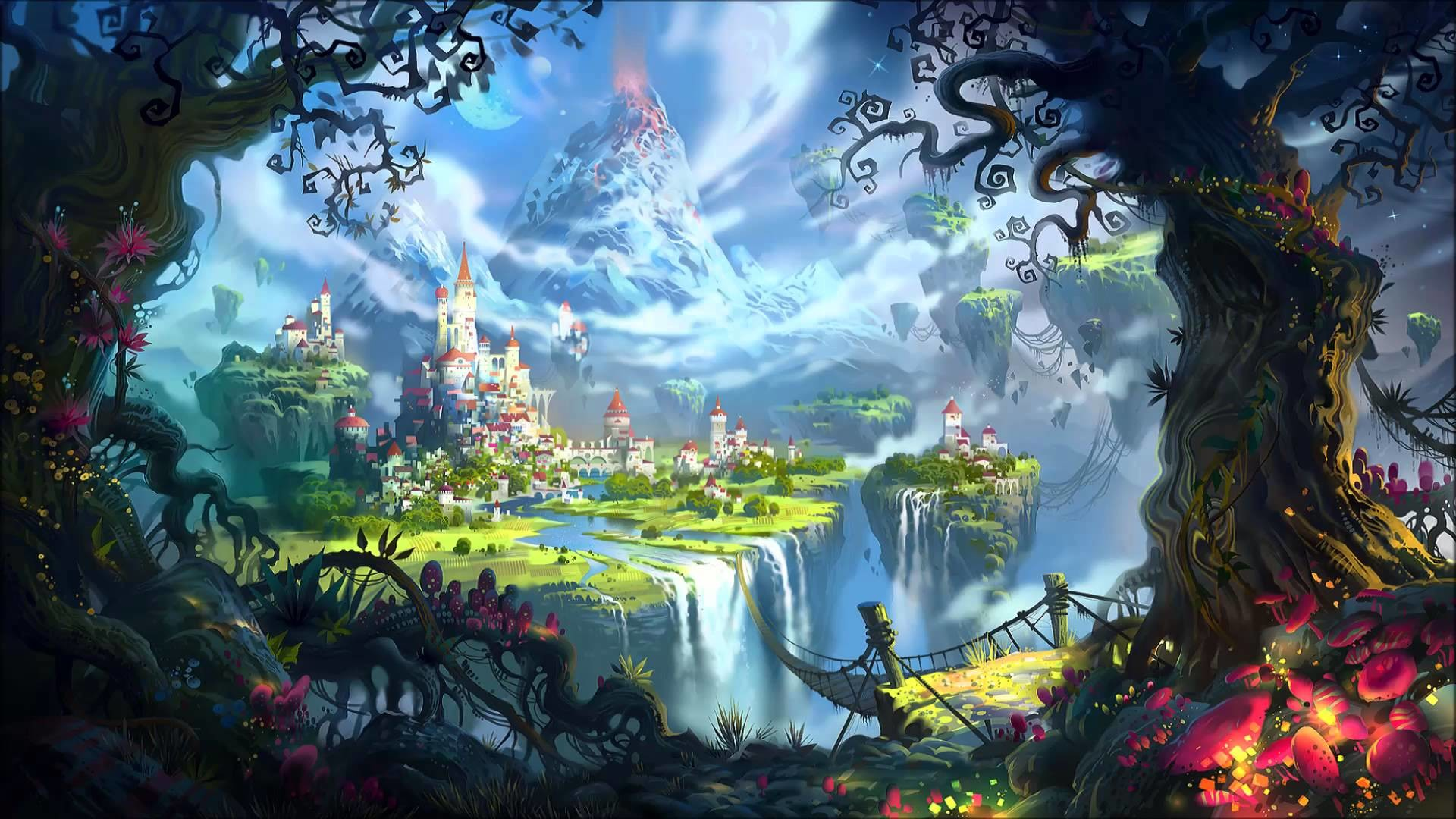 Christmas Magic Hd Wallpapers: Fairytale Background (55+ Images