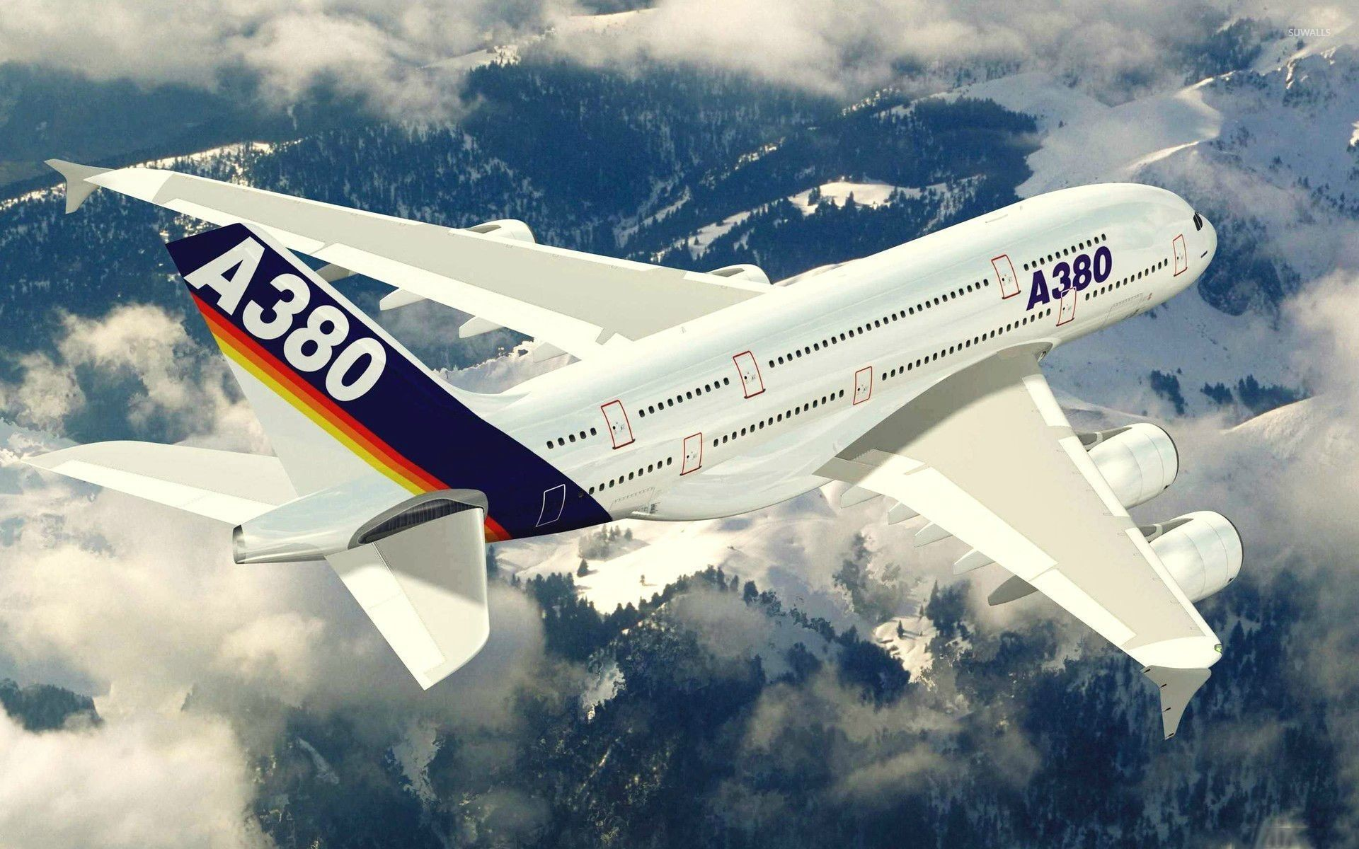 1920x1200 Airbus A380 [2] wallpaper