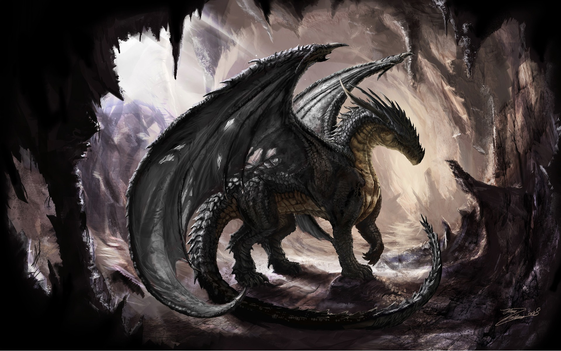 1920x1200 Fantasy-Dragon-Wallpapers-HD-Pictures-by-tapeper
