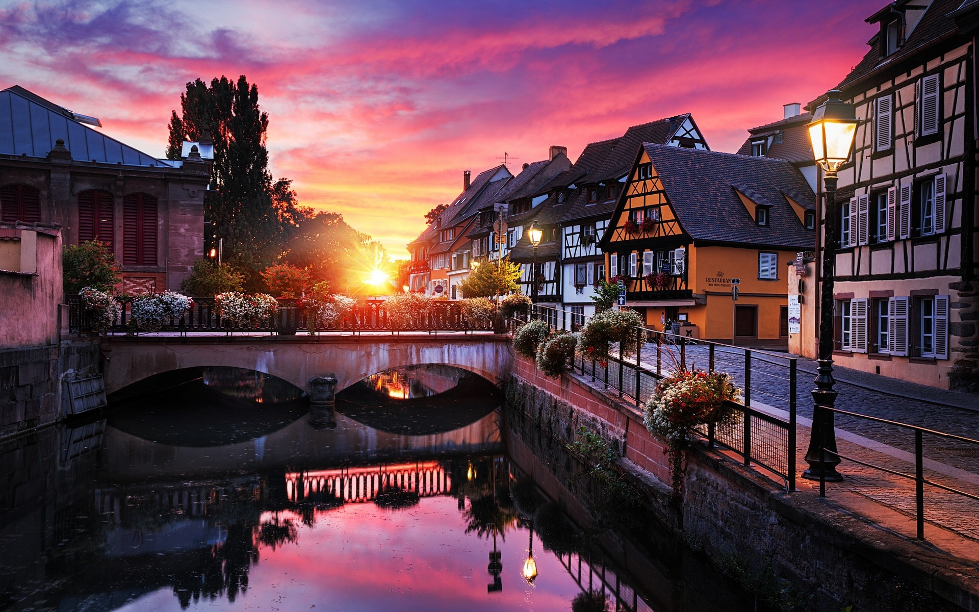 1920x1200 Man Made Gdansk Poland House Town City Wallpaper | europe @@ www .